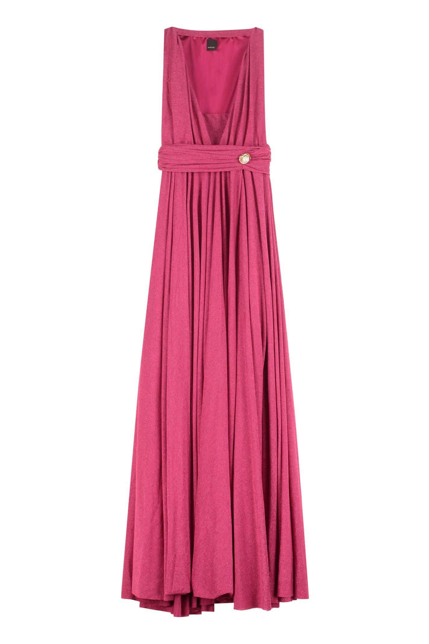 Buy Pinko Patricia Lurex Jersey Shift-dress online, shop Pinko with free shipping