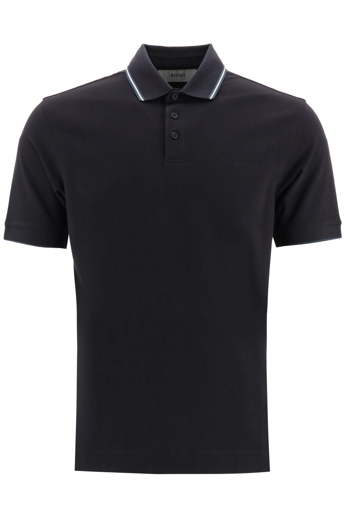 Z Zegna POLO SHIRT WITH LOGO