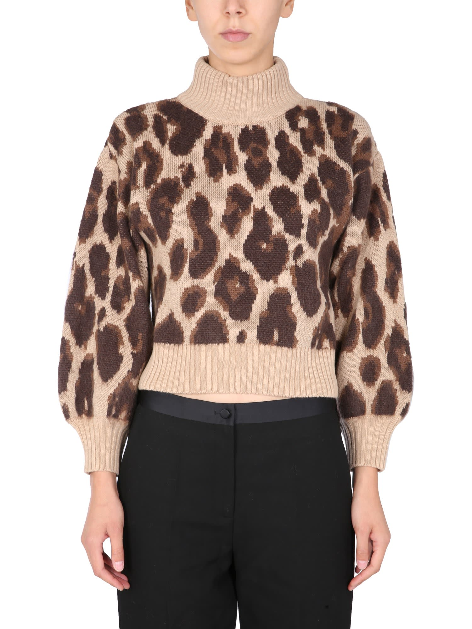 Sweater With Animal Print