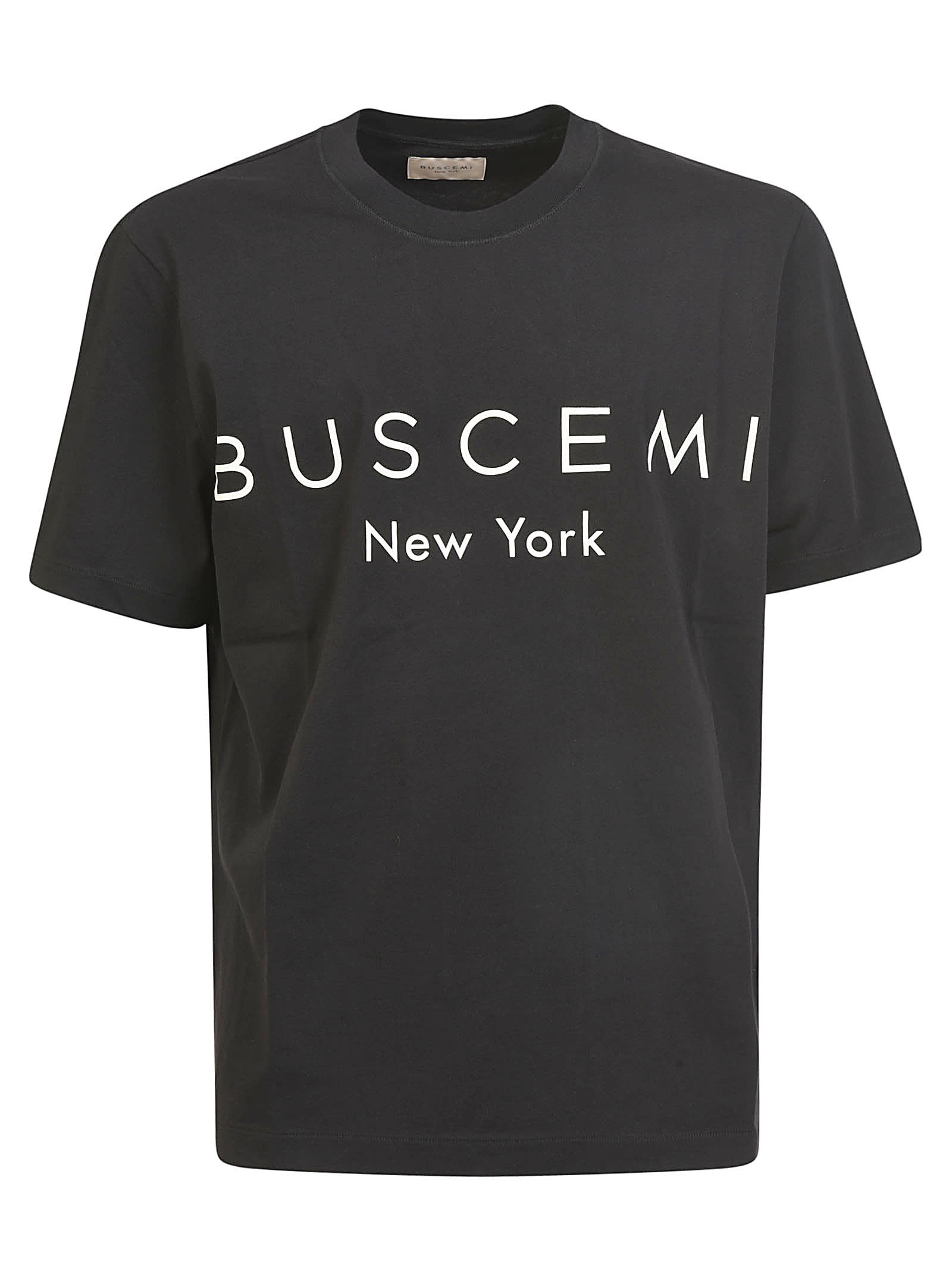 Buscemi Logo Regular T-shirt In Black