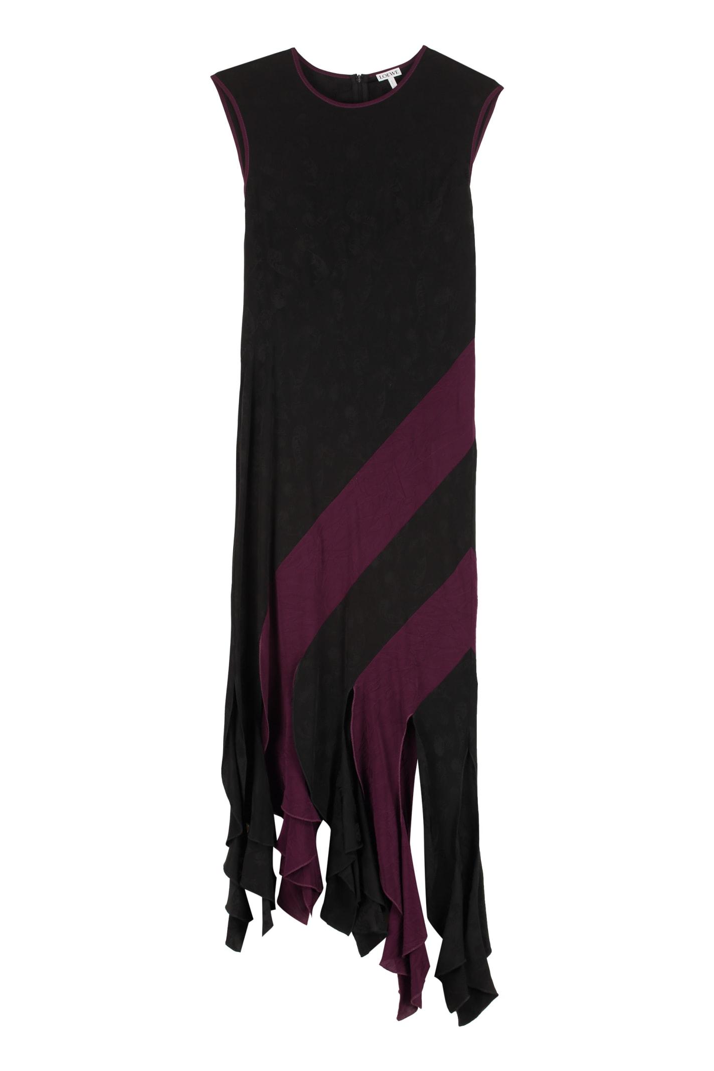 Buy Loewe Jacquard Dress online, shop Loewe with free shipping