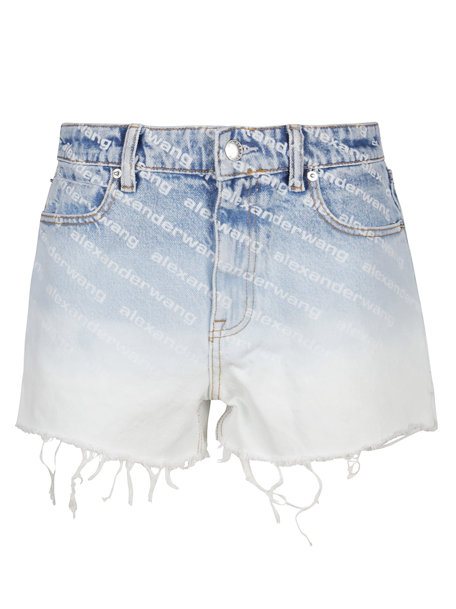 Alexander Wang High Waist Short W Dipped Back