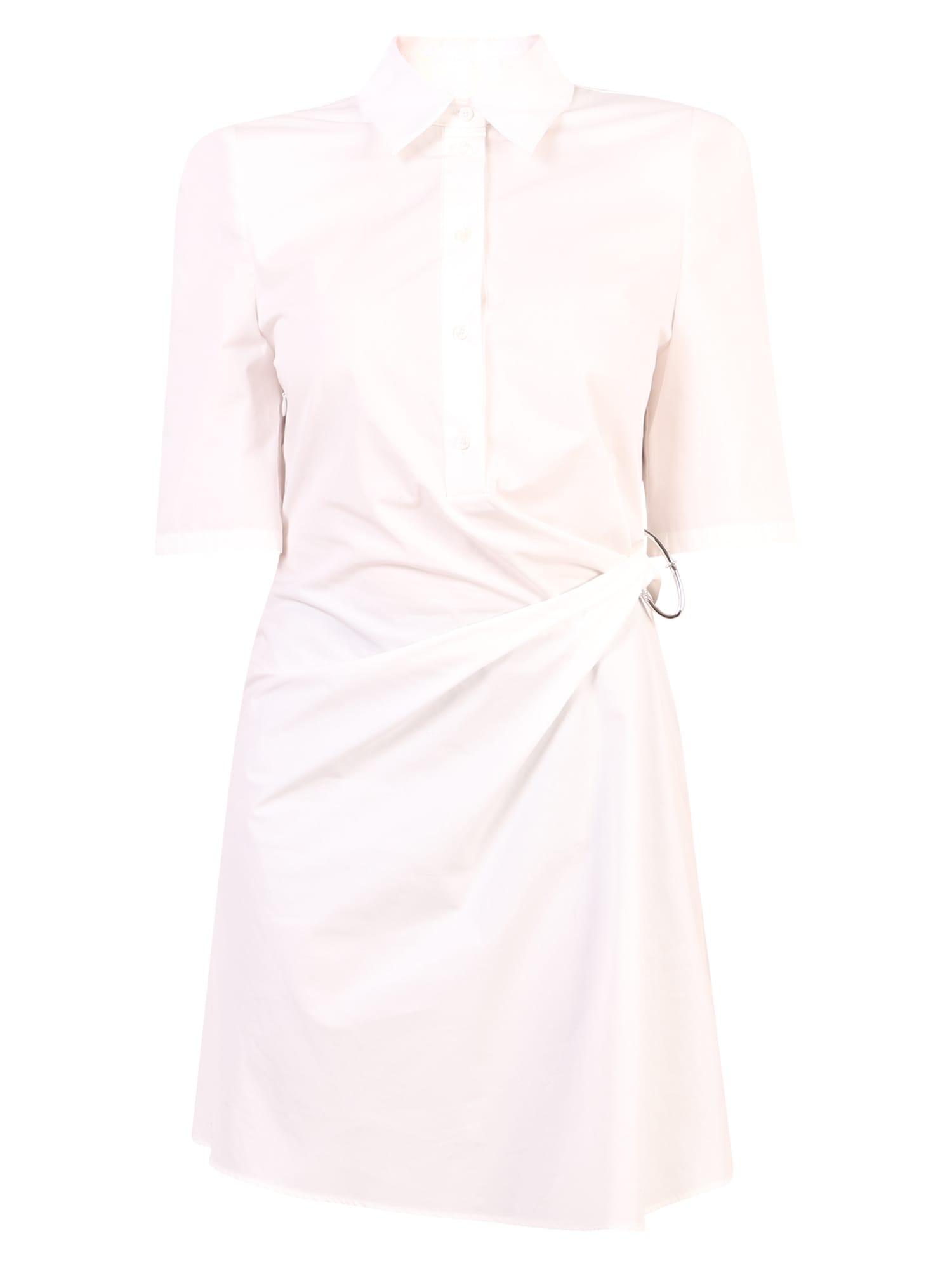 Off-White Shirt Dress