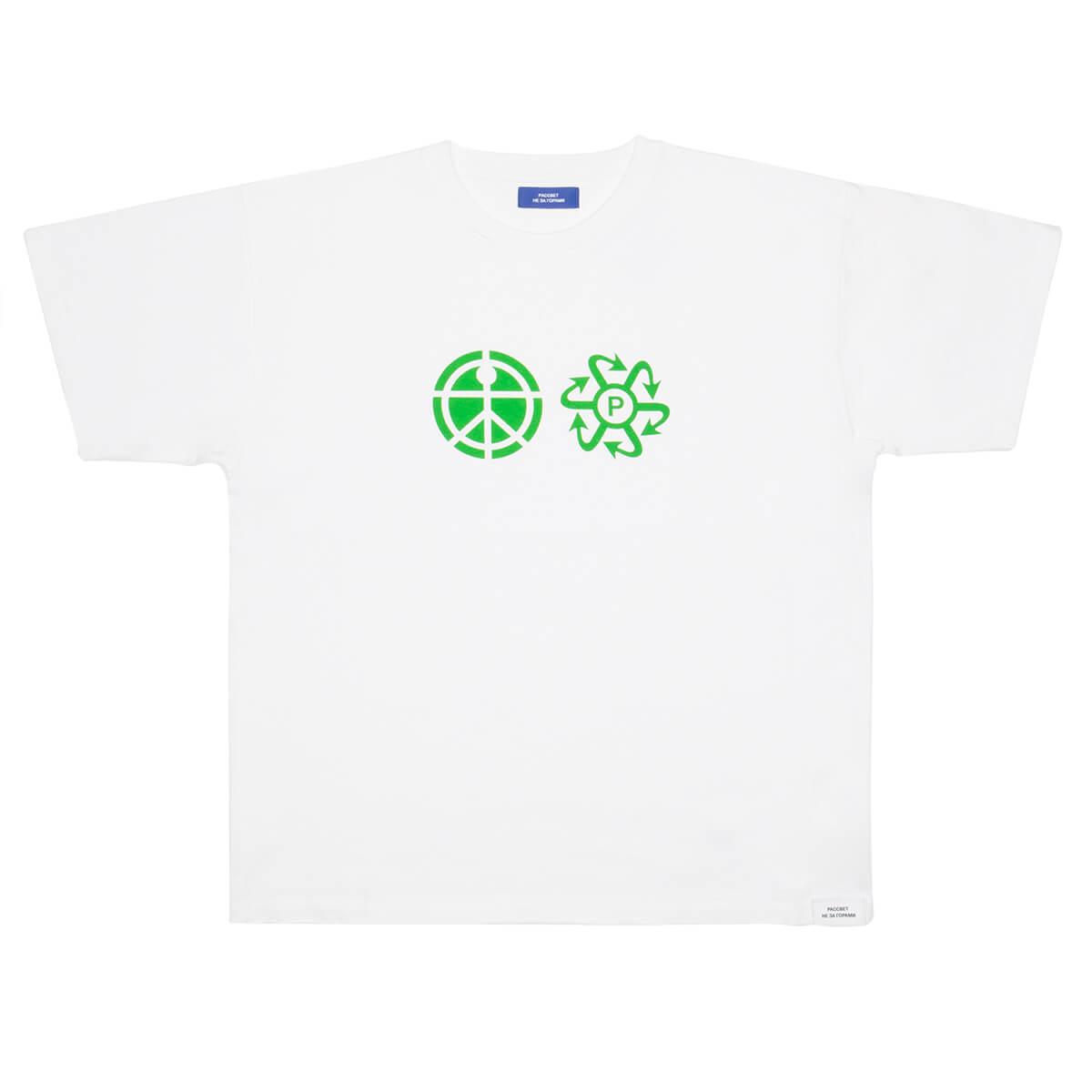 Rassvet White Print Logo T-shirt