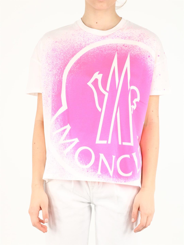 Moncler T-shirts MAXI LOGO T-SHIRT