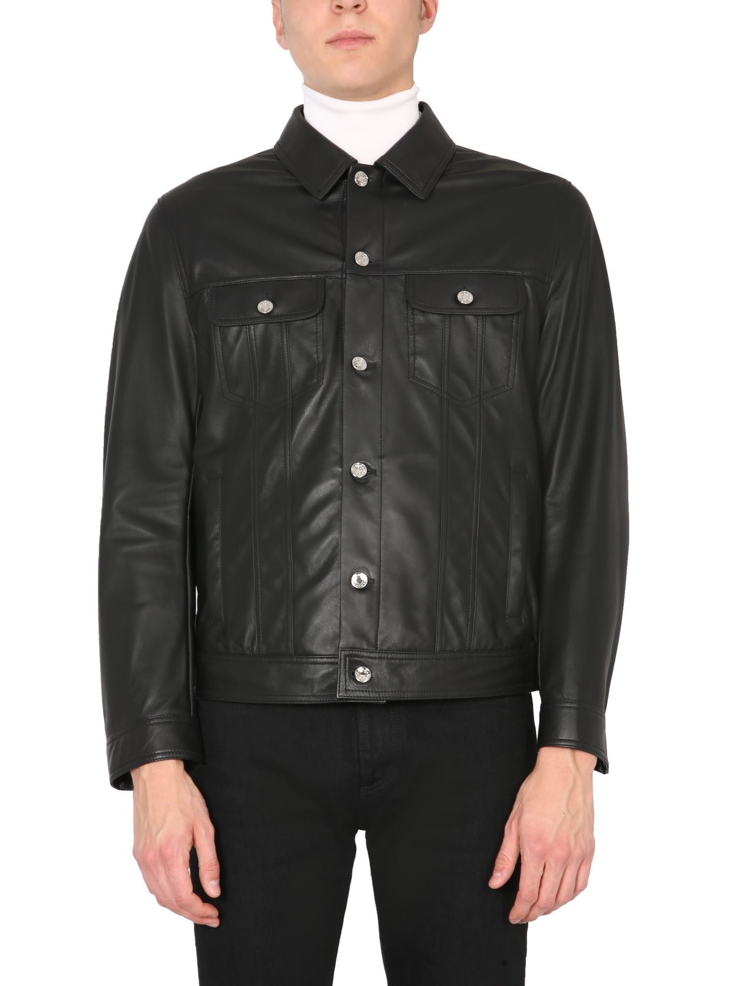 Dolce & Gabbana Leathers LEATHER JACKET
