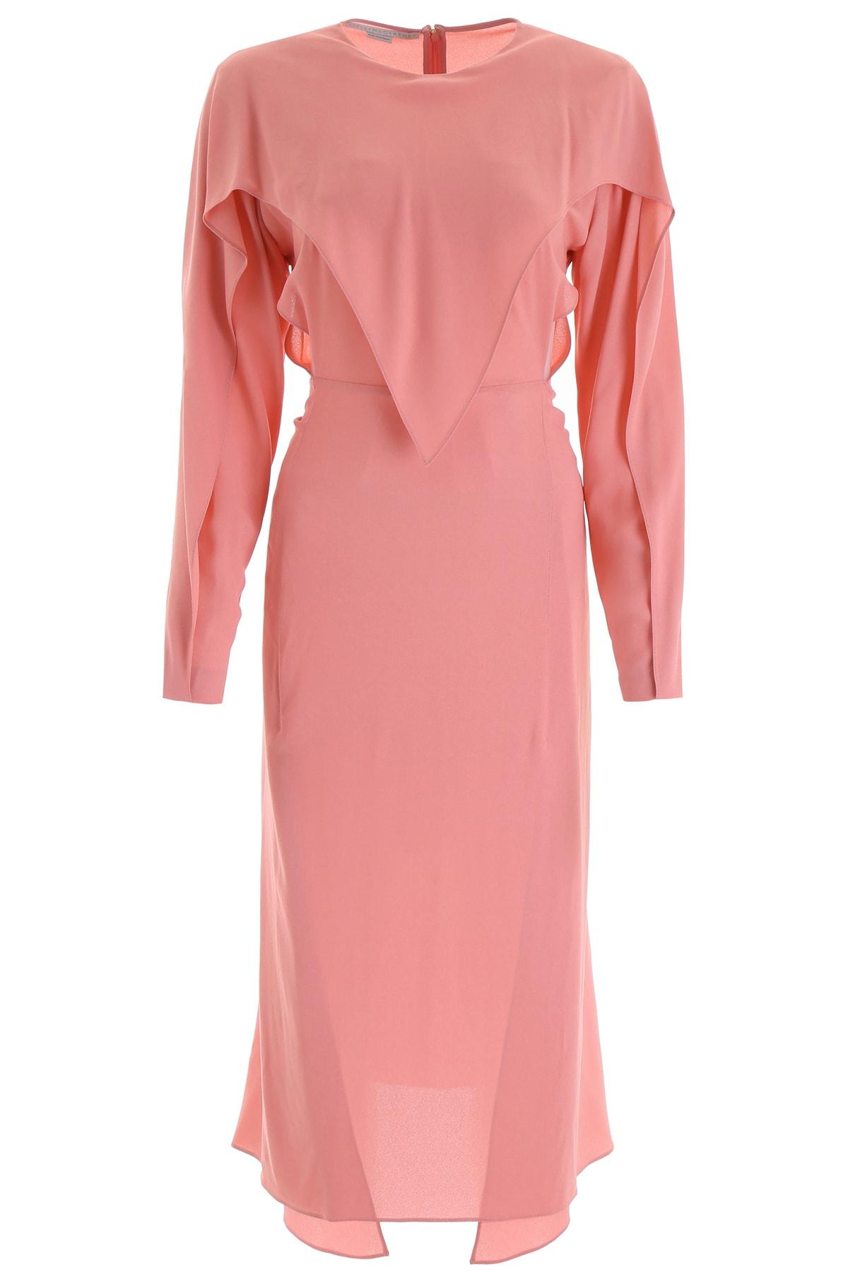 Buy Stella McCartney Crepe Dress online, shop Stella McCartney with free shipping