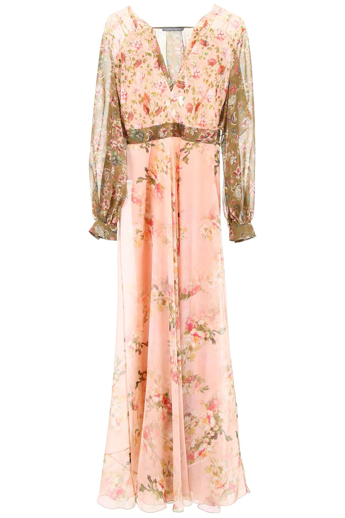 Alberta Ferretti Floral-printed Dress