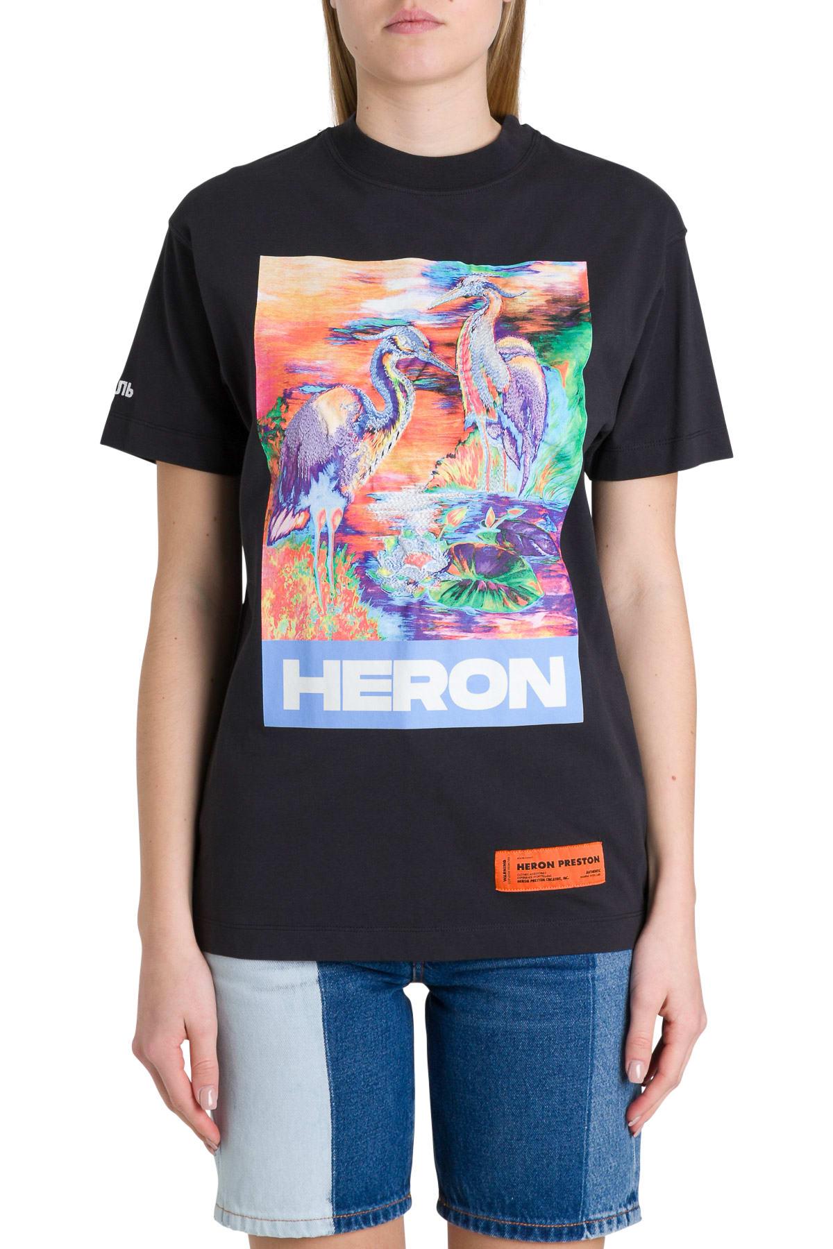 HERON PRESTON BIRDS TEE
