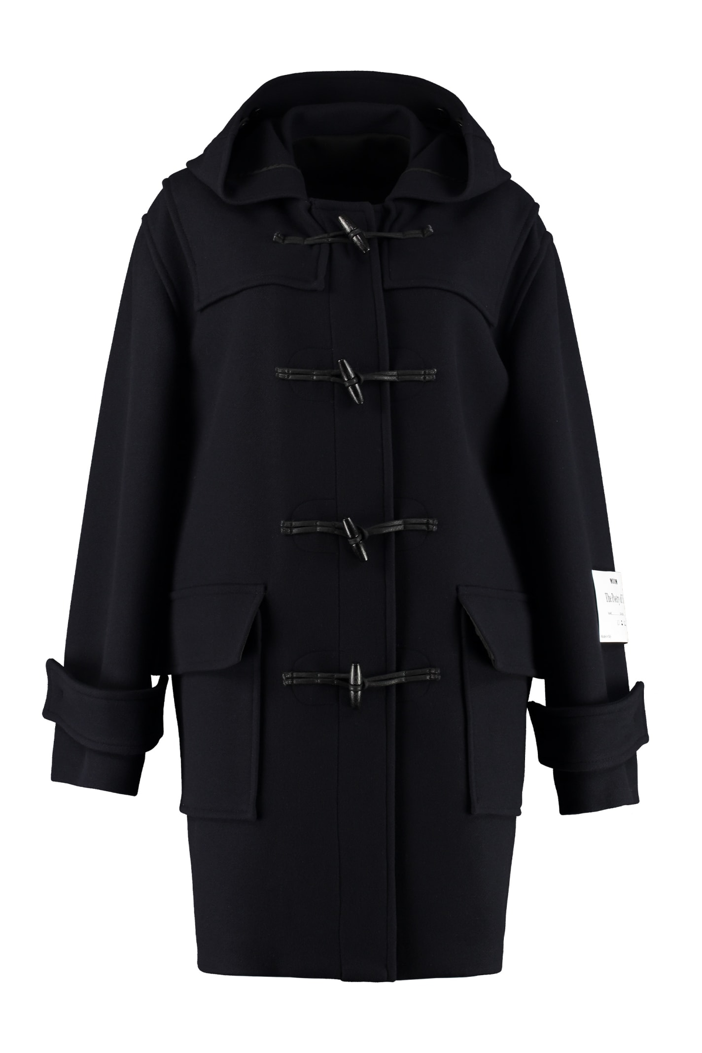 MSGM Virgin Wool Coat