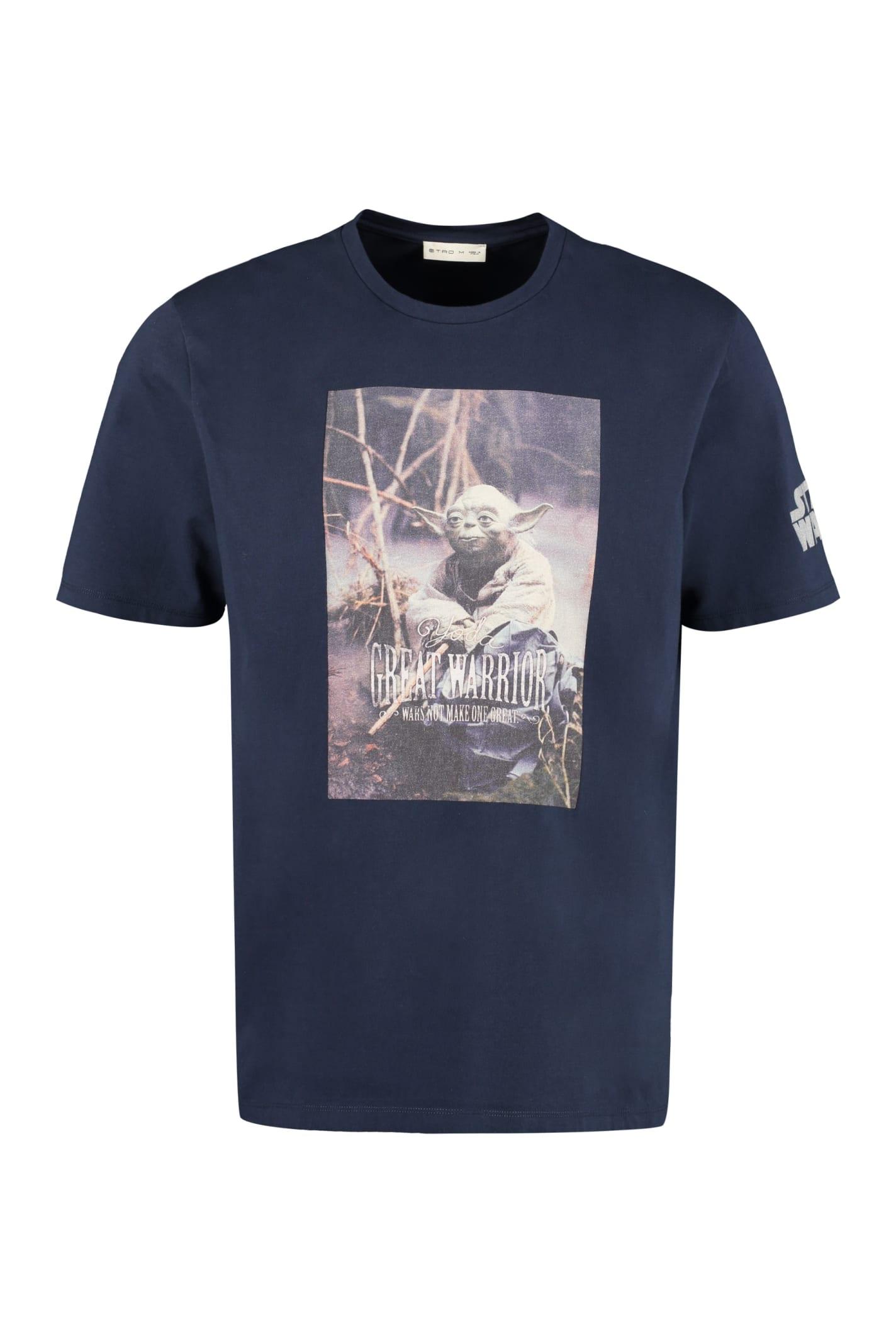 Etro Etro X Star Wars Cotton T-shirt