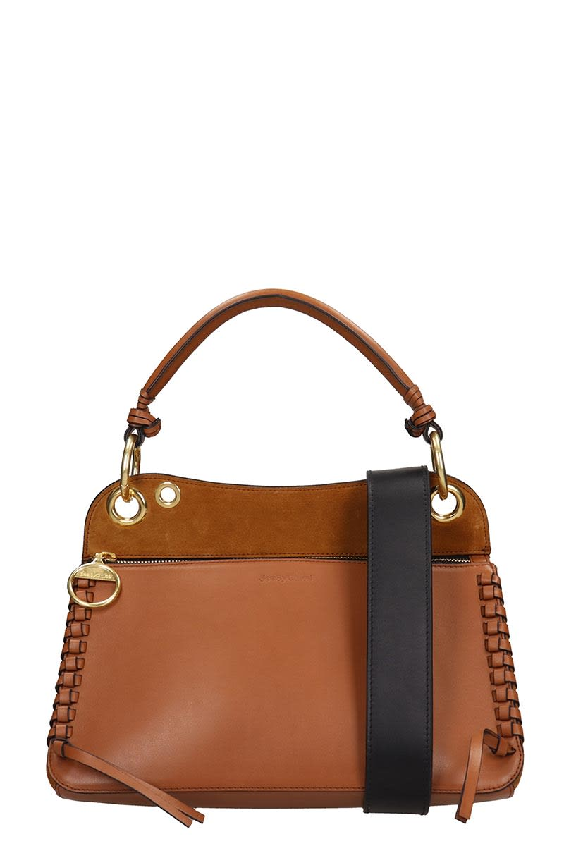 See By ChloÉ Shoulder Bag In Leather Color Suede And Leather
