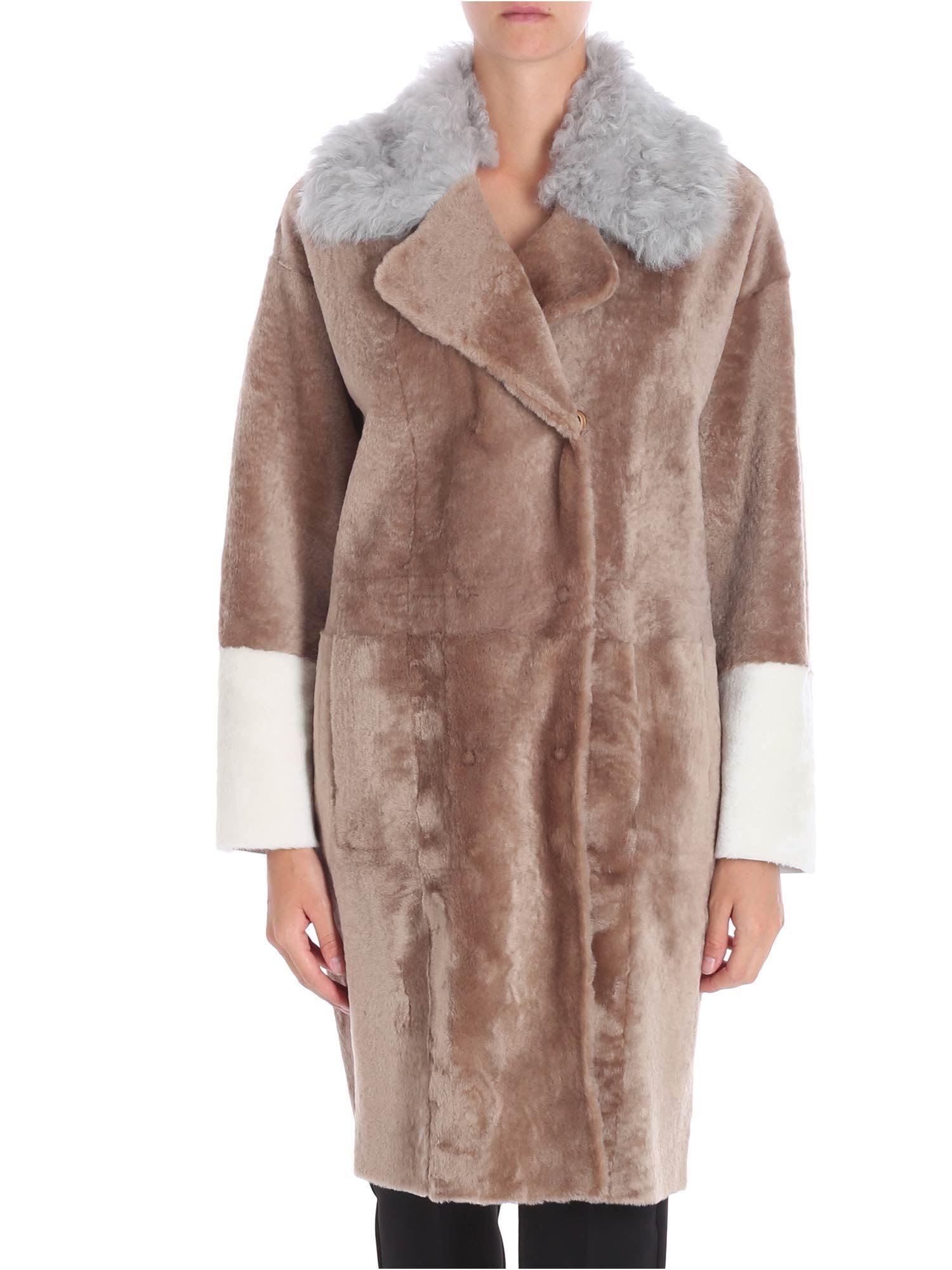 Drome - Reversible Shearling Coat