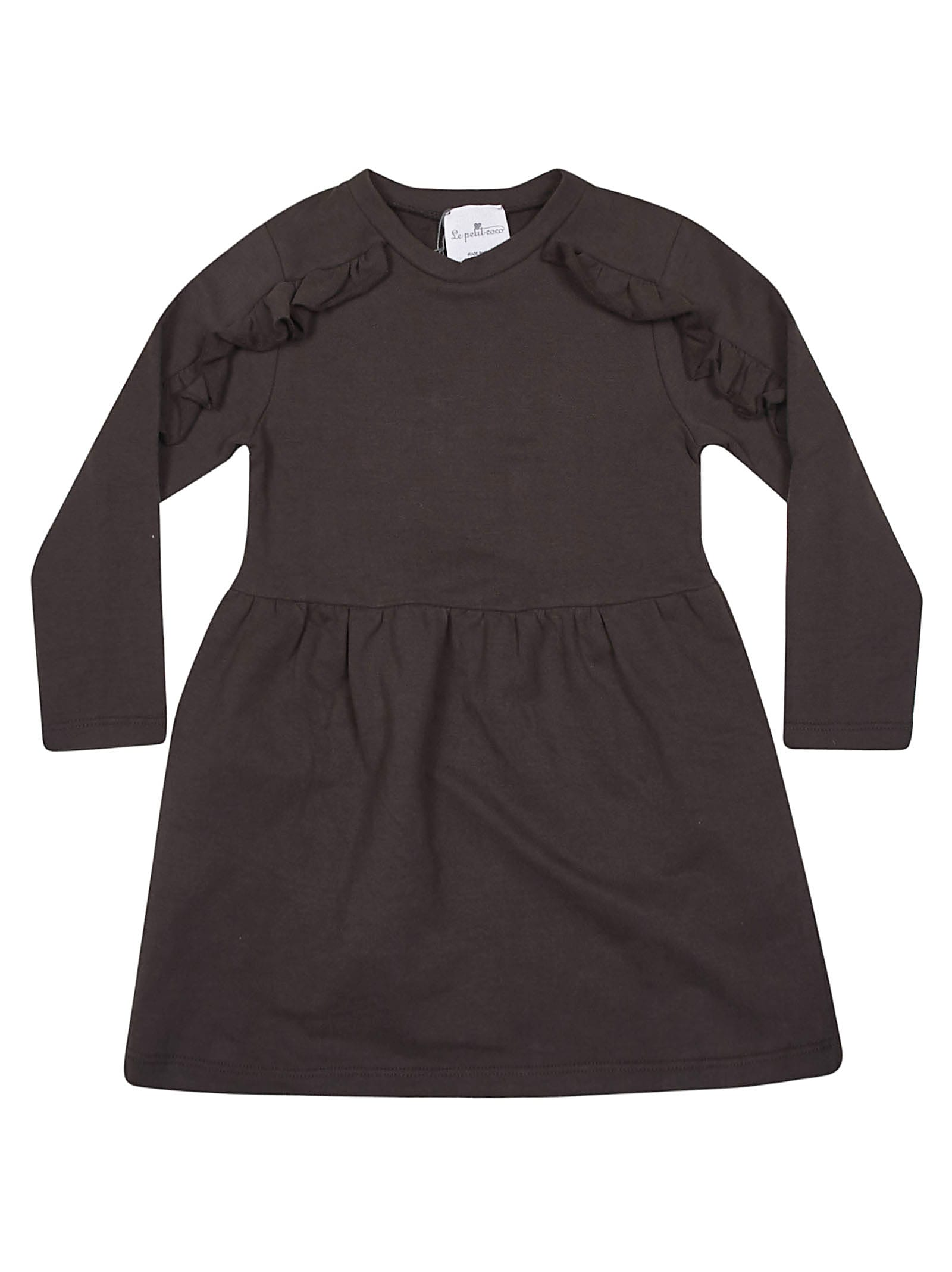Buy Le Petit Coco Ruffled Detail Dress online, shop Le Petit Coco with free shipping