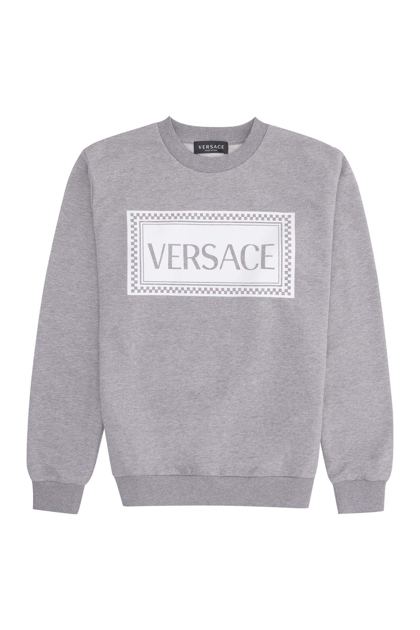 Young Versace COTTON CREW-NECK SWEATSHIRT