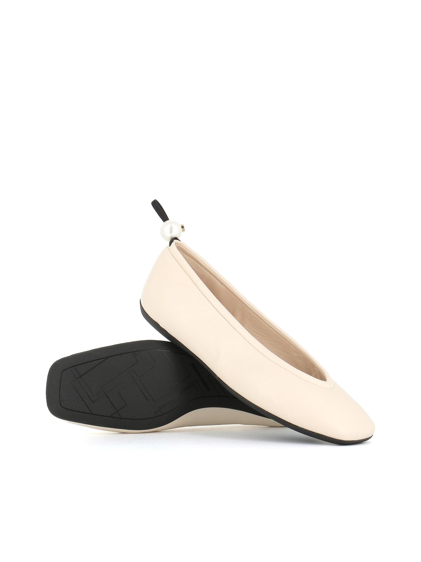 Buy Nicholas Kirkwood Ballerina Delfi online, shop Nicholas Kirkwood shoes with free shipping