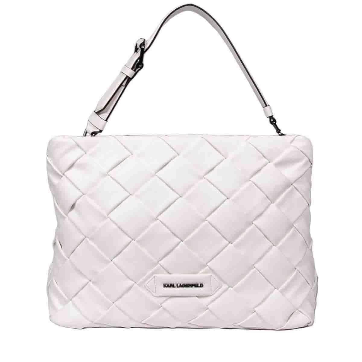 Karl Lagerfeld K/KUSHION SHOULDER BAG
