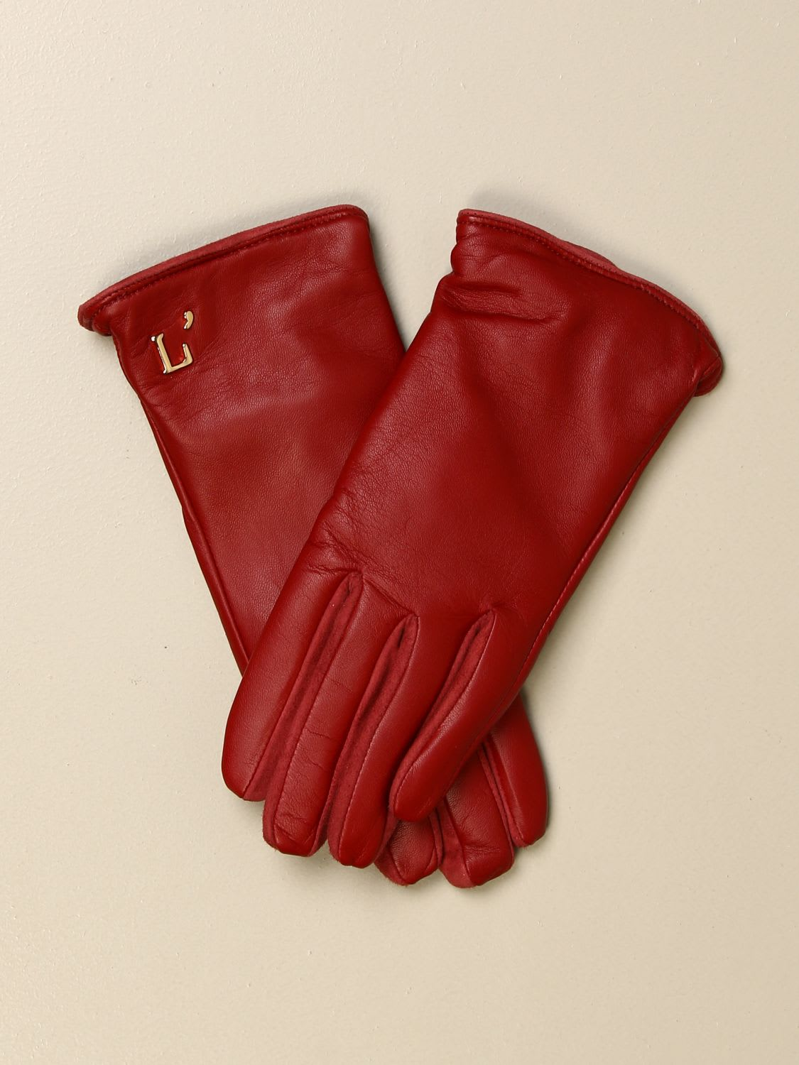 L'autre Chose LAUTRE CHOSE GLOVES LAUTRE CHOSE GLOVES IN LEATHER AND SUEDE