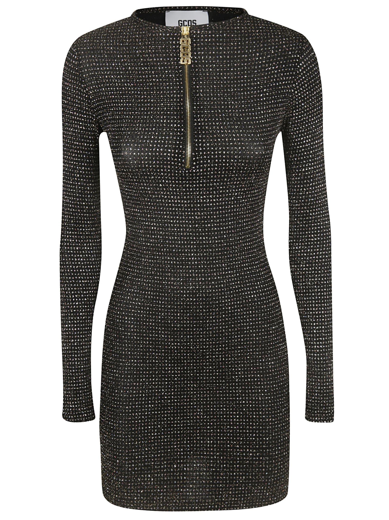 GCDS Zipped Placket Dress