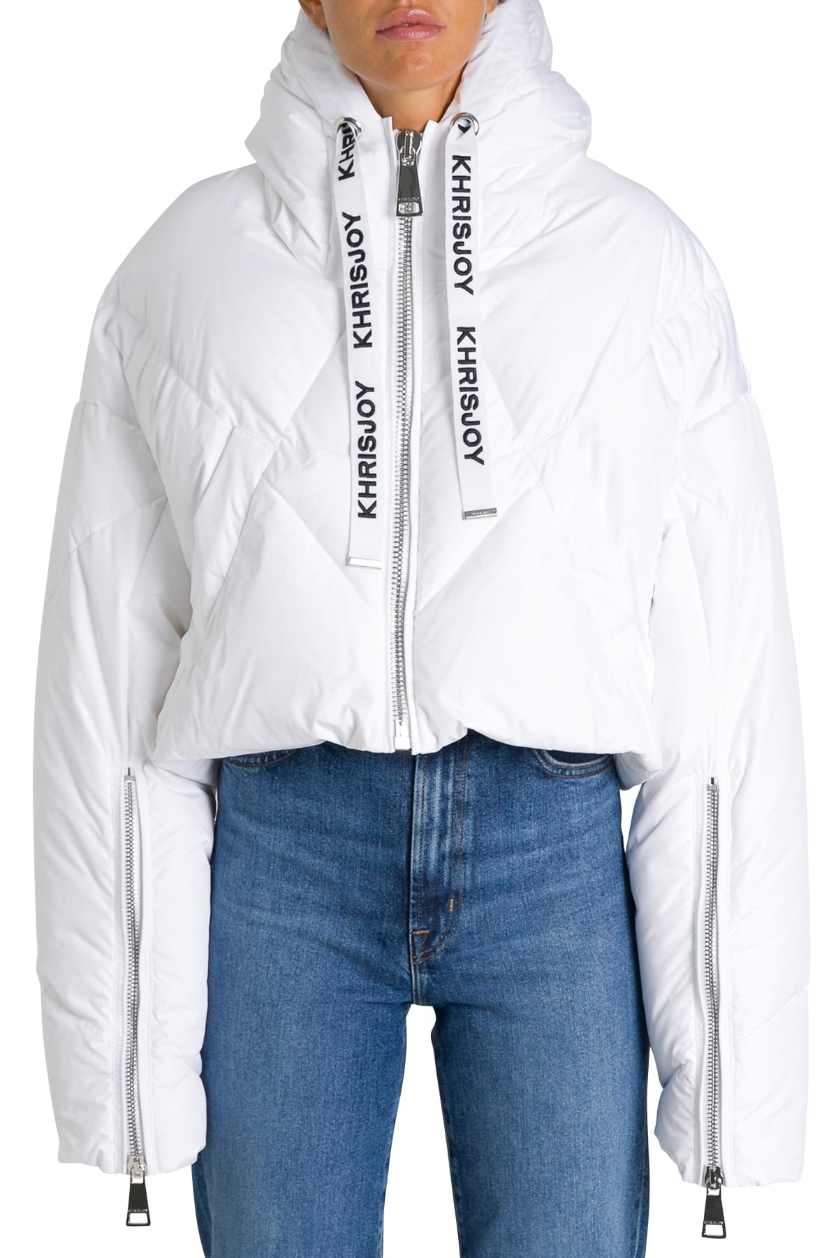 Khrisjoy Cropped Down Jacket