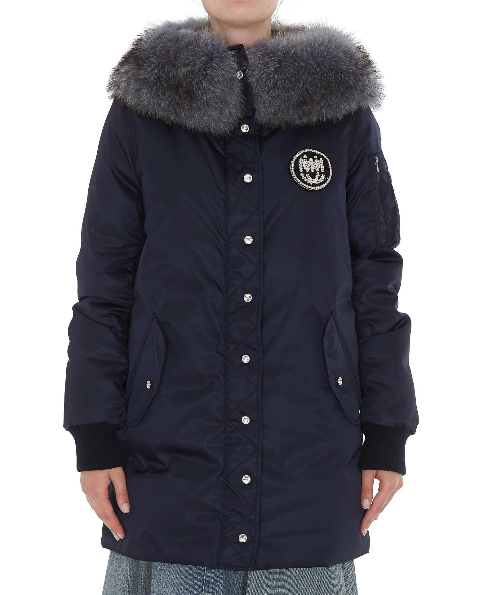 Photo of  Miu Miu Down Jacket- shop Miu Miu jackets online sales