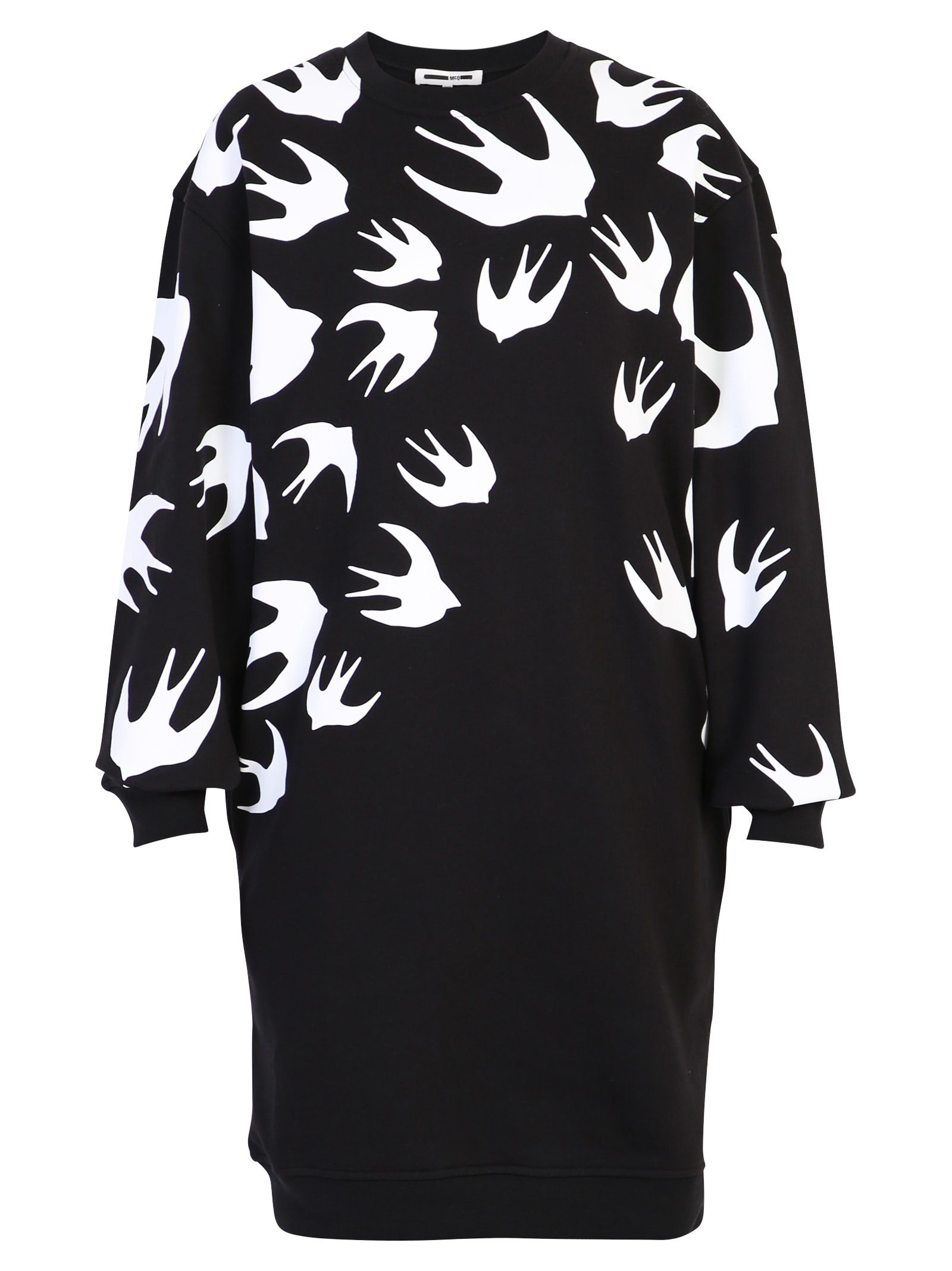 McQ Alexander McQueen Swallow Print Dress