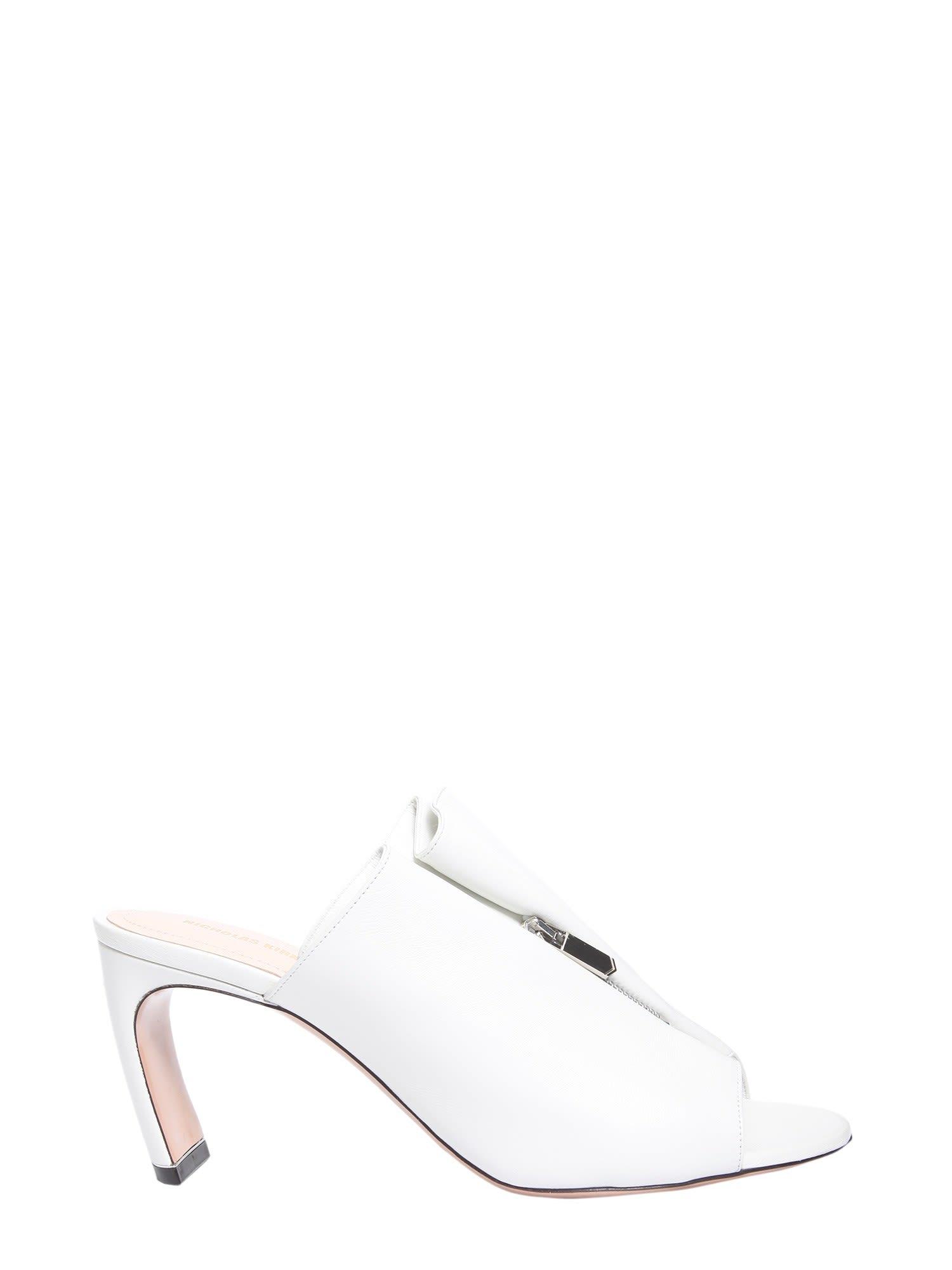 Buy Nicholas Kirkwood Kristen Mules online, shop Nicholas Kirkwood shoes with free shipping