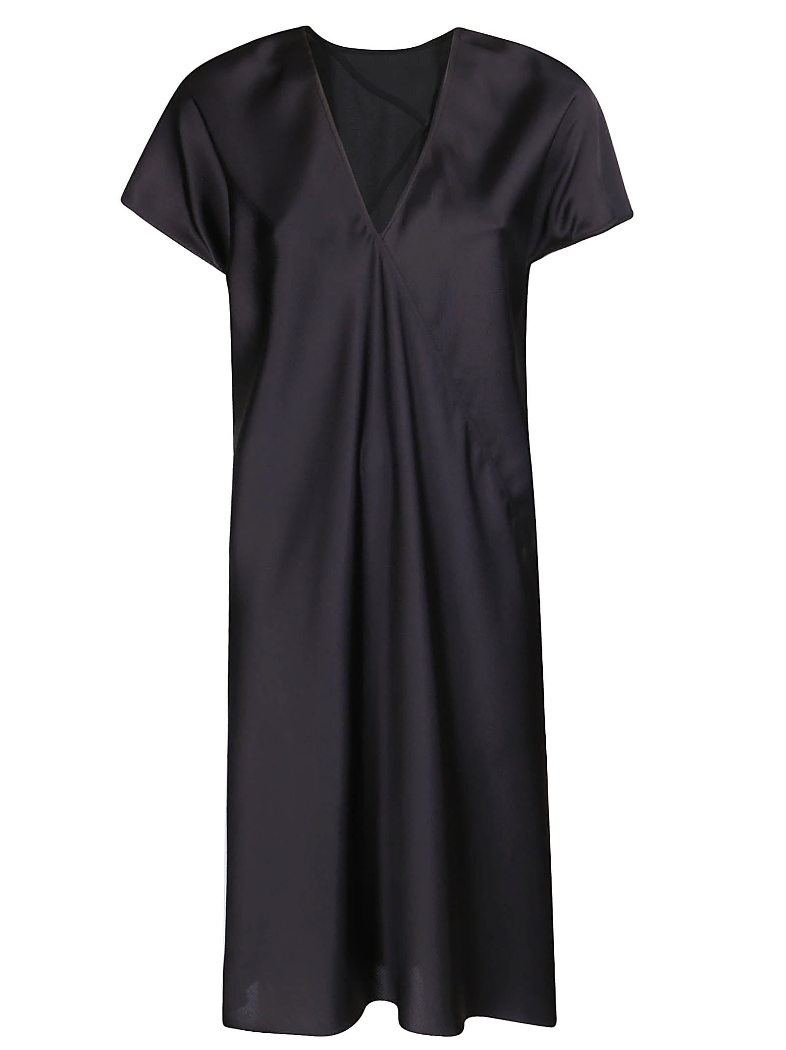 Buy Rick Owens Satin Shift Dress online, shop Rick Owens with free shipping