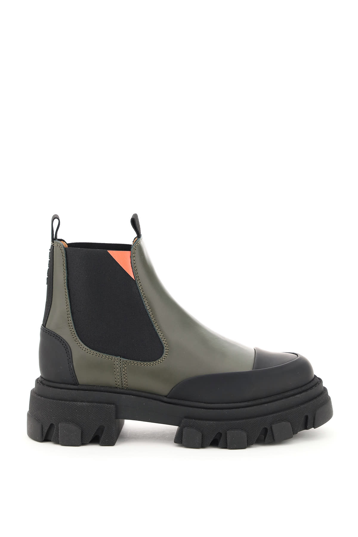 Ganni Leathers LEATHER CHELSEA BOOTS
