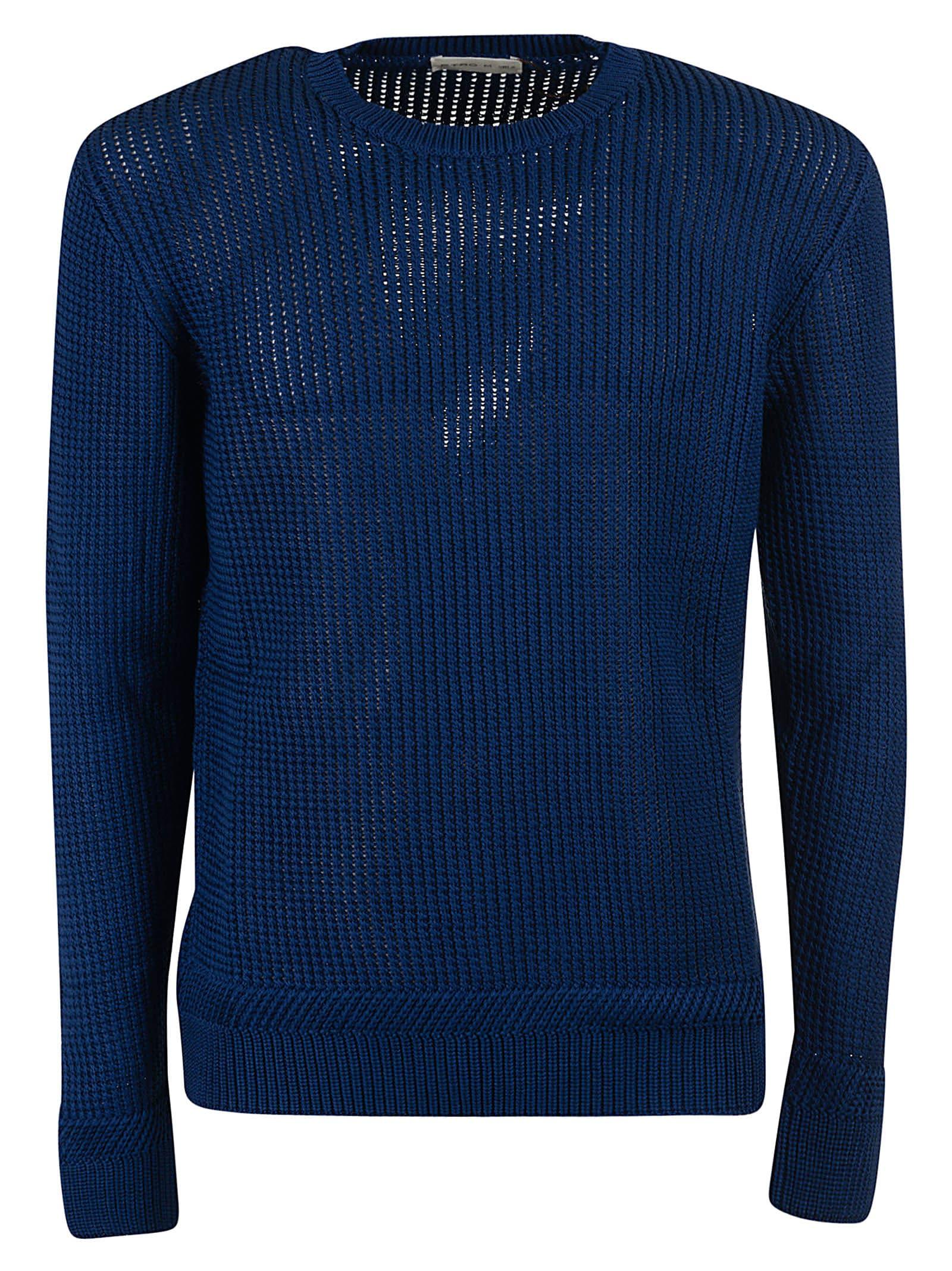 Etro Ribbed Crewneck Sweater