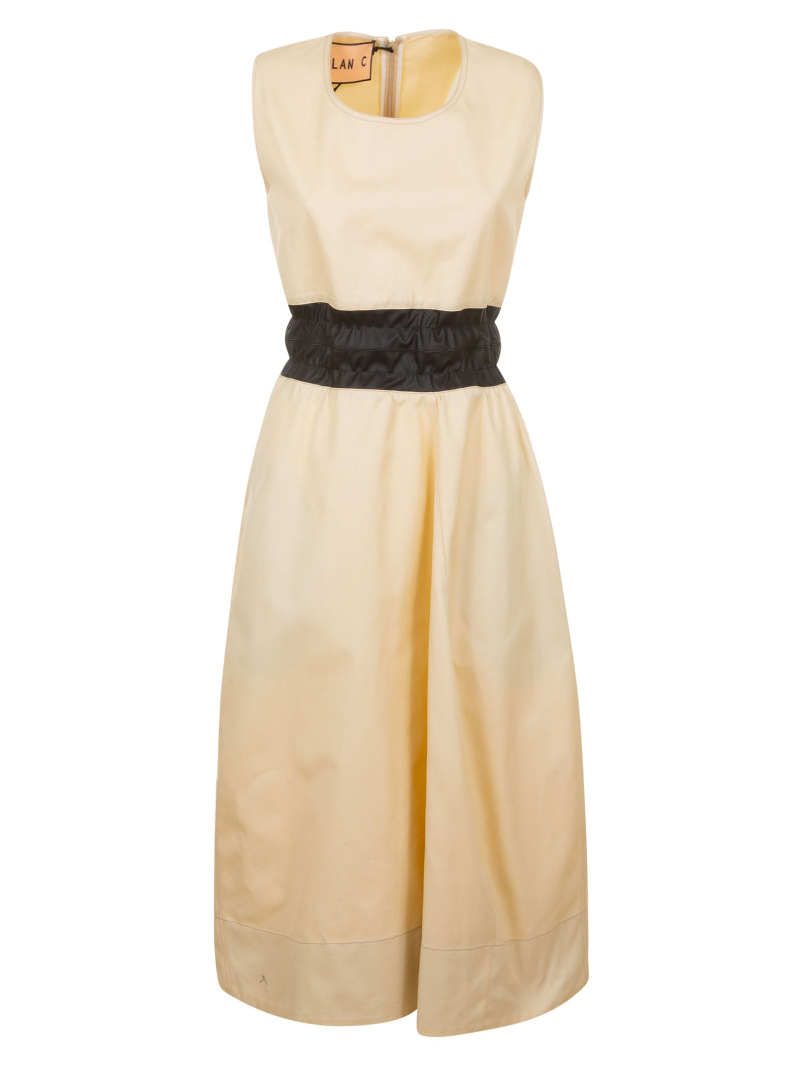 Buy Plan C Back Zip Sleeveless Dress online, shop Plan C with free shipping