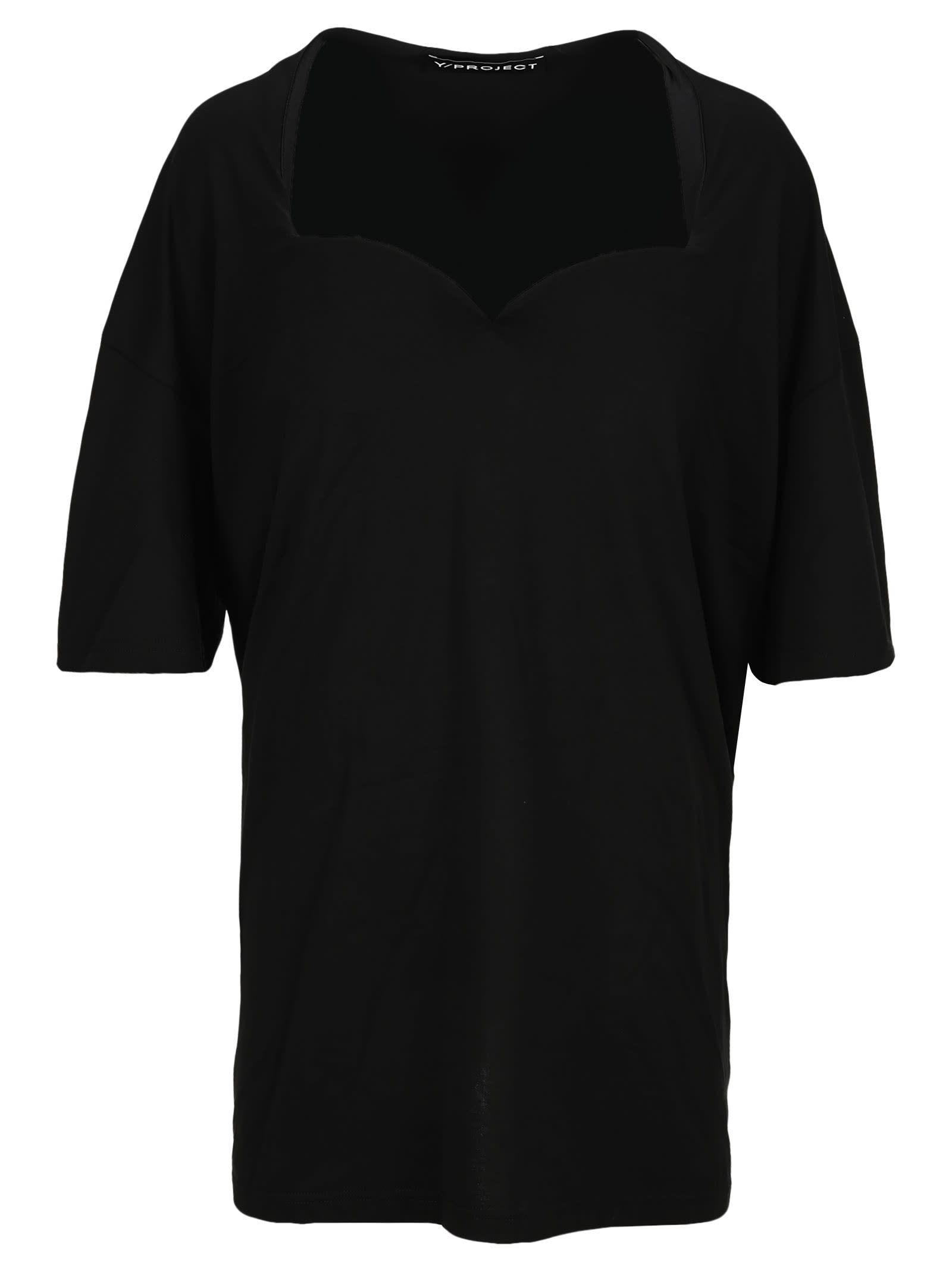 Y/project Y/PROJECT PUSH UP T-SHIRT