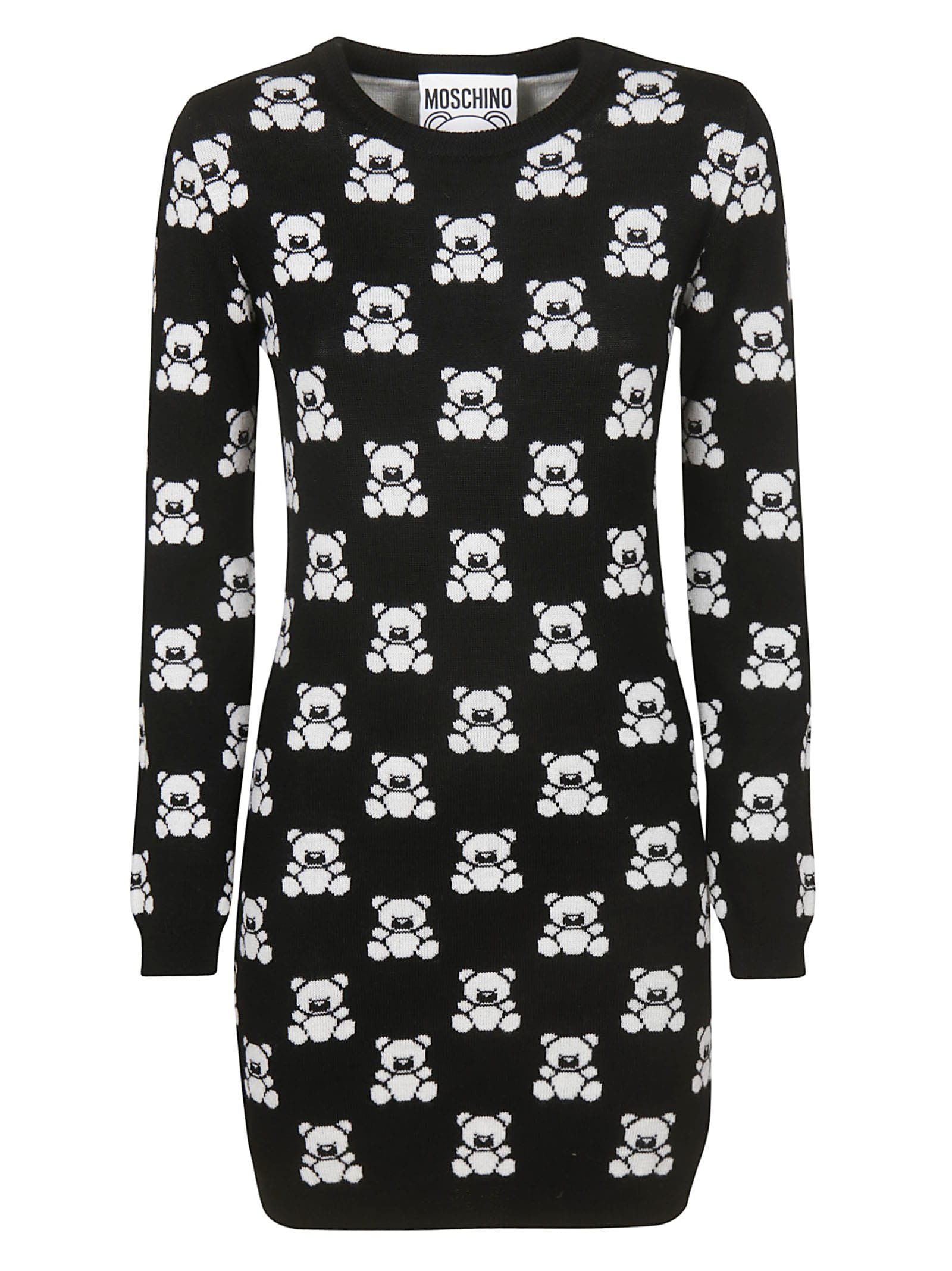 Moschino Teddy Bear Allover Dress