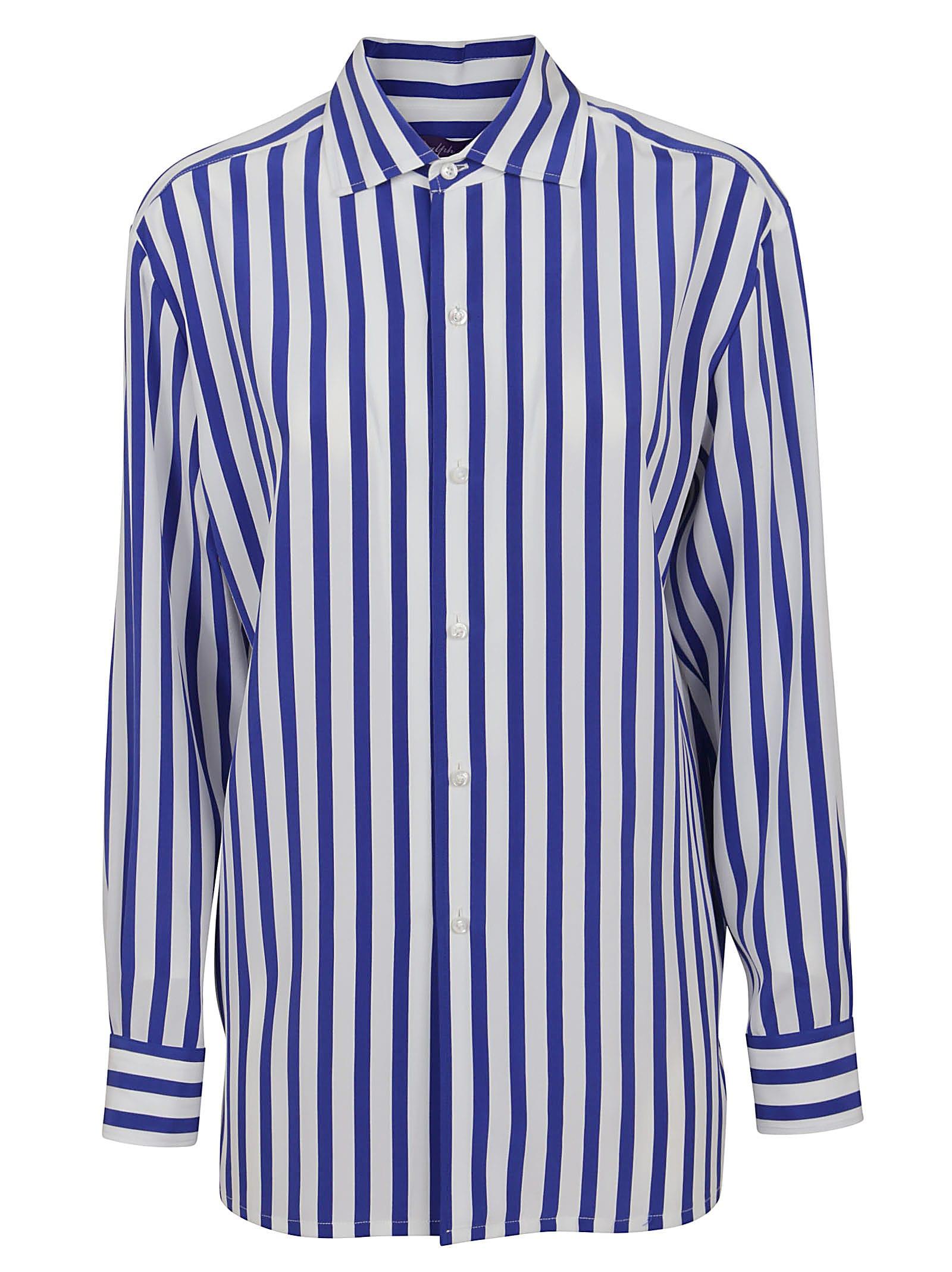 Ralph Lauren Shirts CAPRI BUTTON FRONT SHIRT