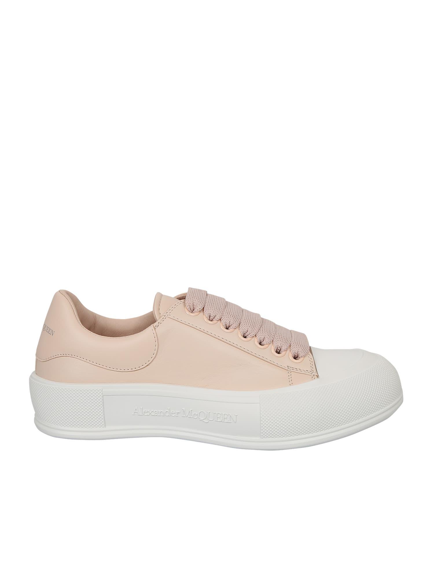 Alexander McQueen Sneakers Di Pelle