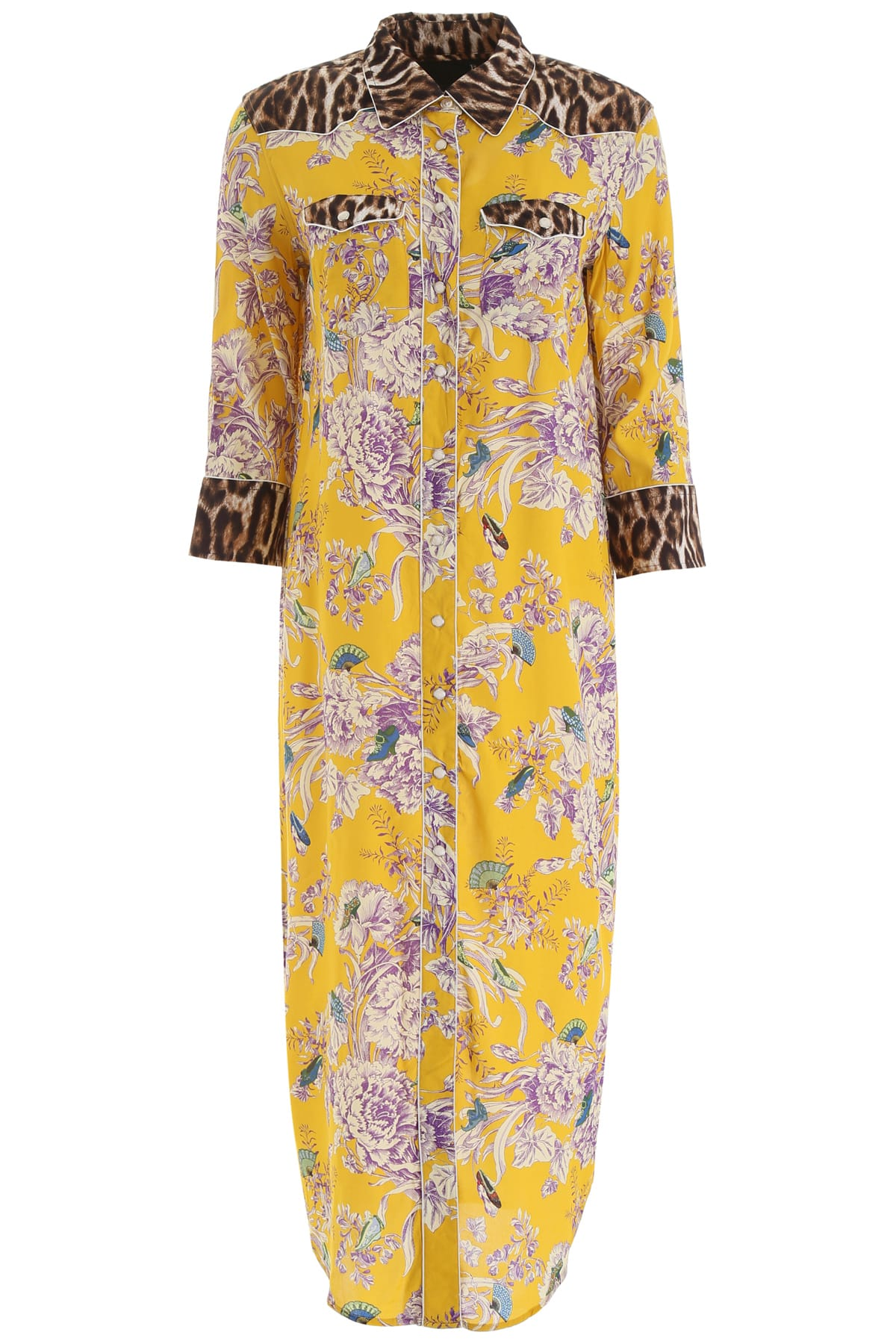 R13 Floral Western Dress