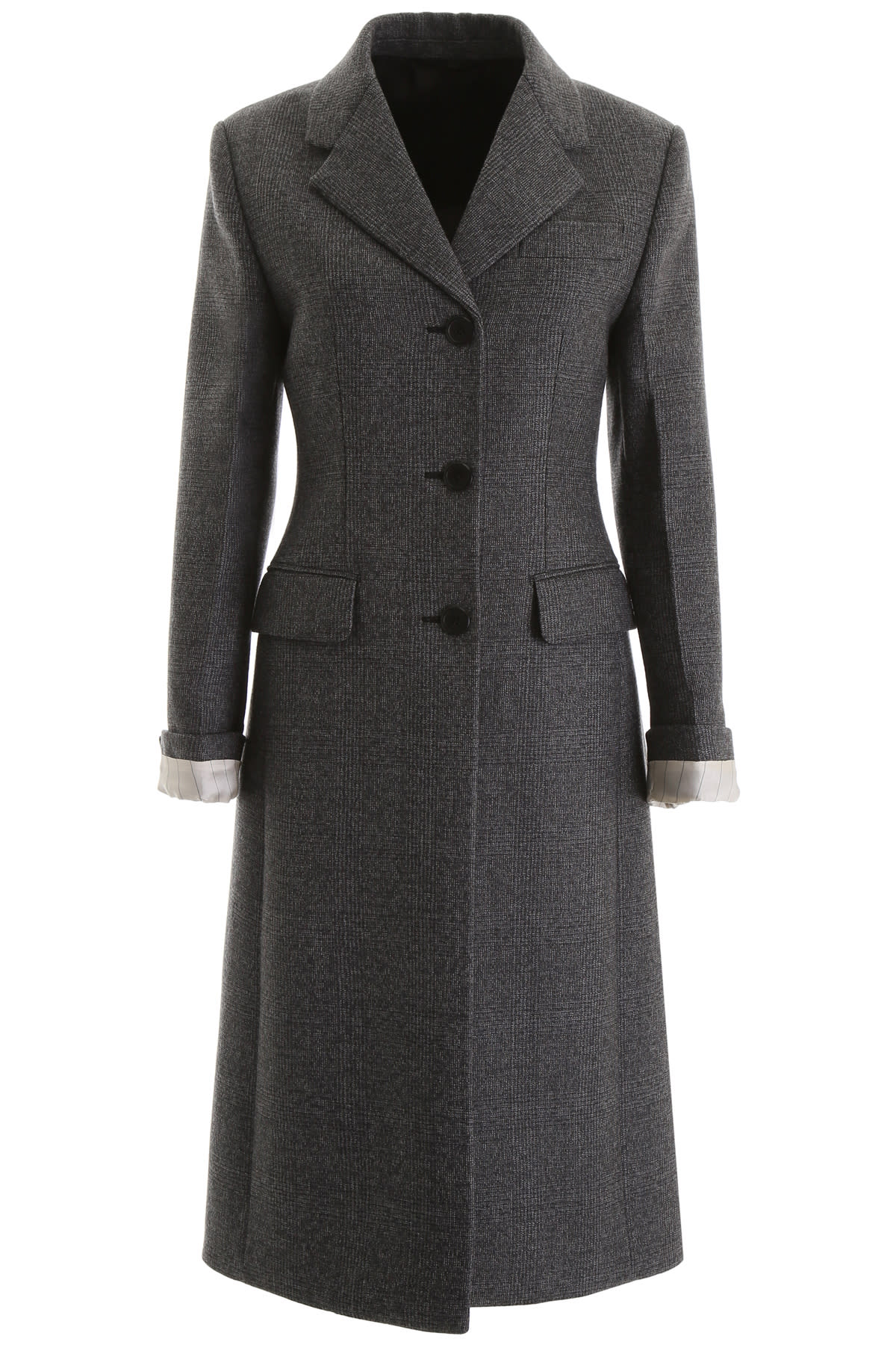 Prada Prince Of Wales Coat