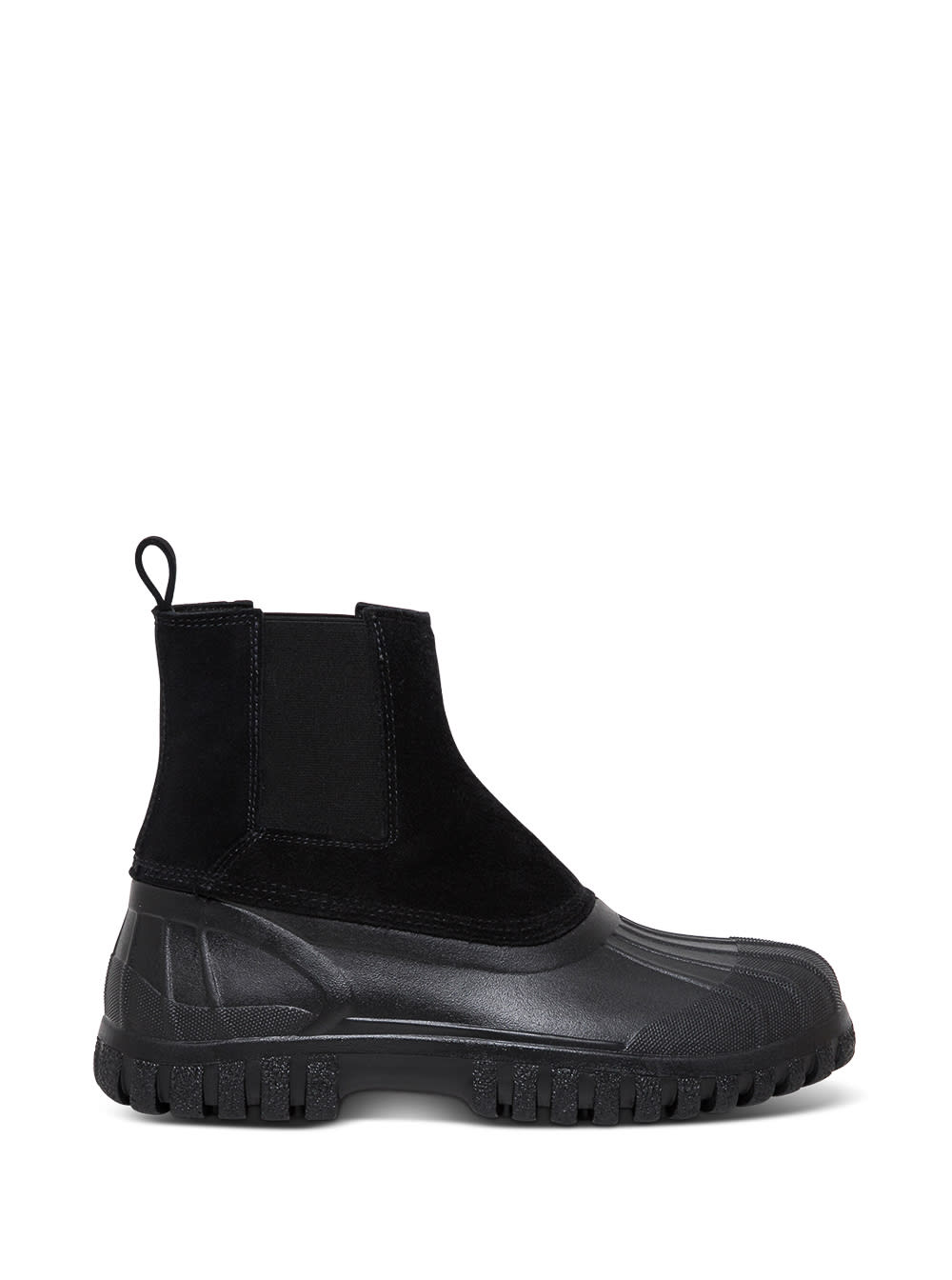 Balbi Black Suede And Rubber Boots