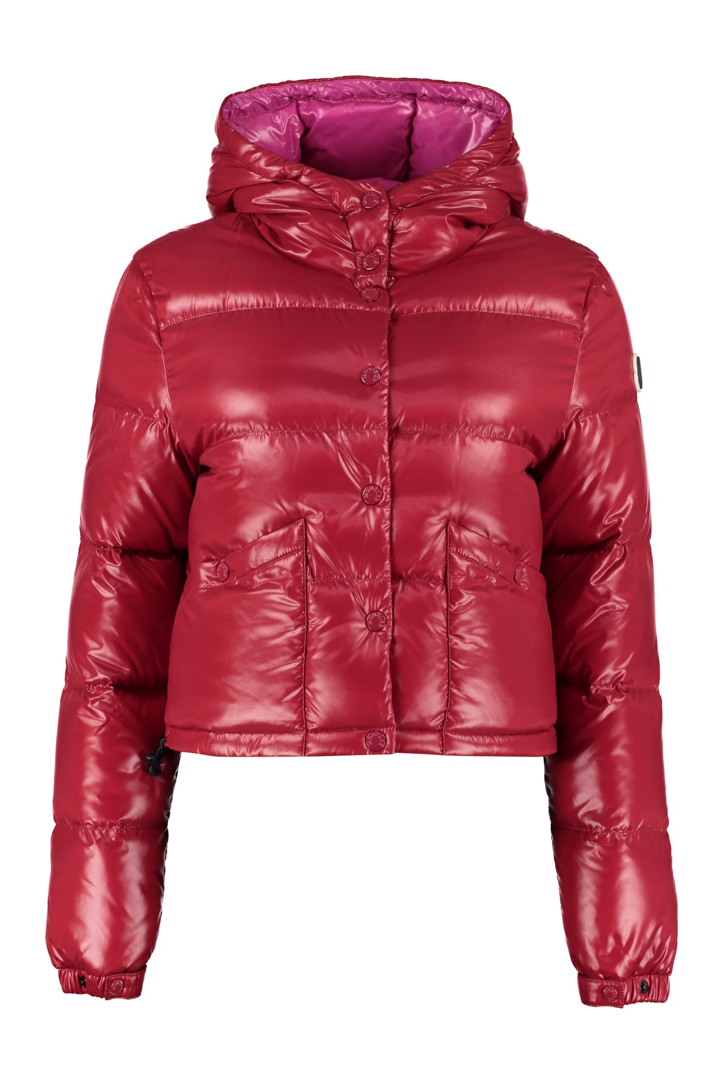 Moncler Hooded Quilted Down Jacket