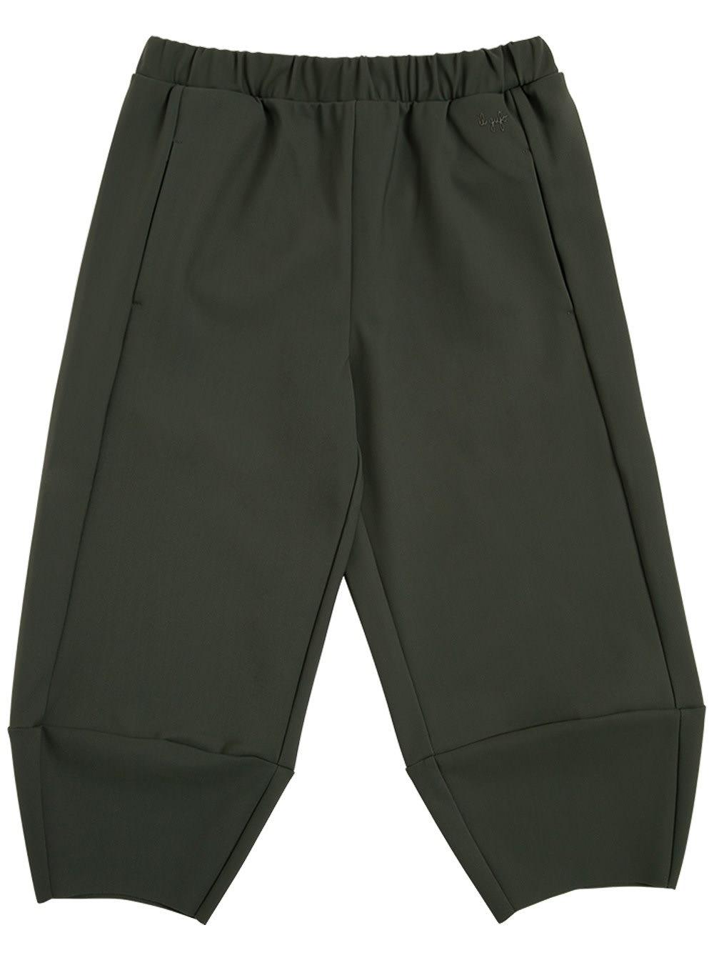 Green Sensitive Fabrics Jogger Pants