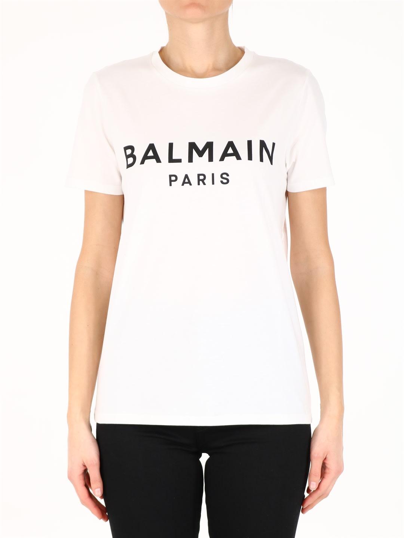 Balmain LOGO T-SHIRT WHITE