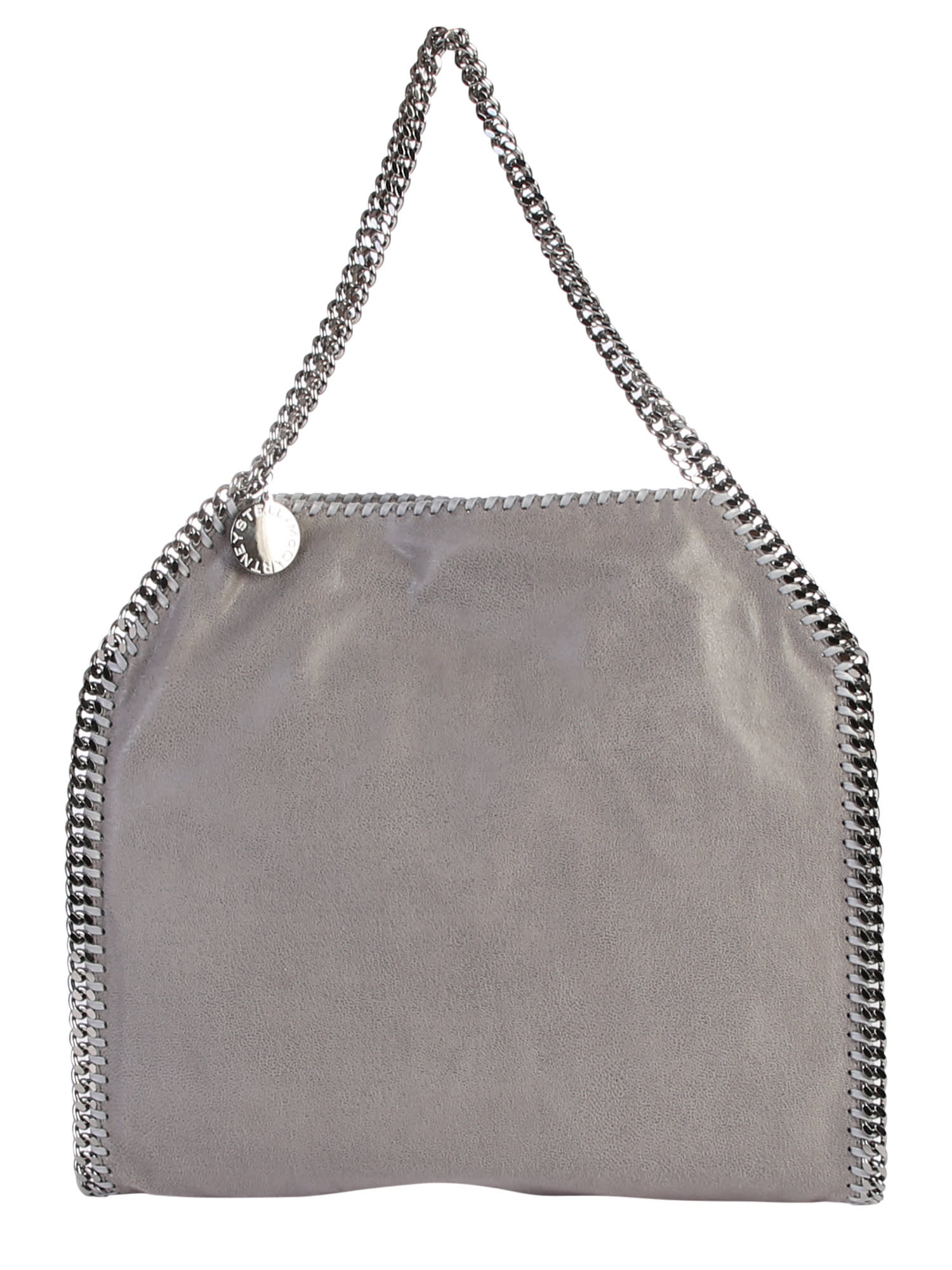 Stella McCartney Grey Falabella Double Chain Bag