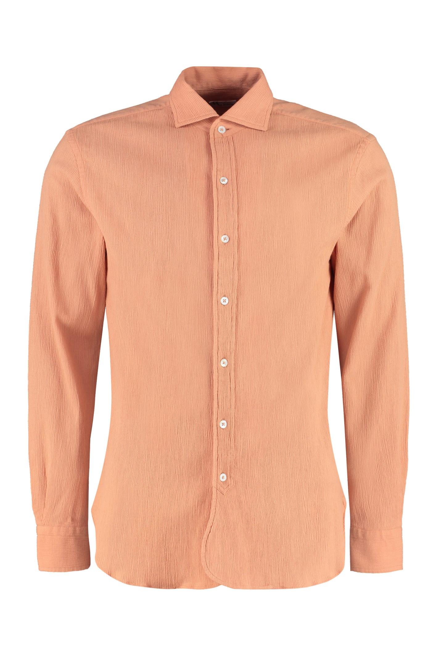 Aanacapri Embossed-cotton Shirt