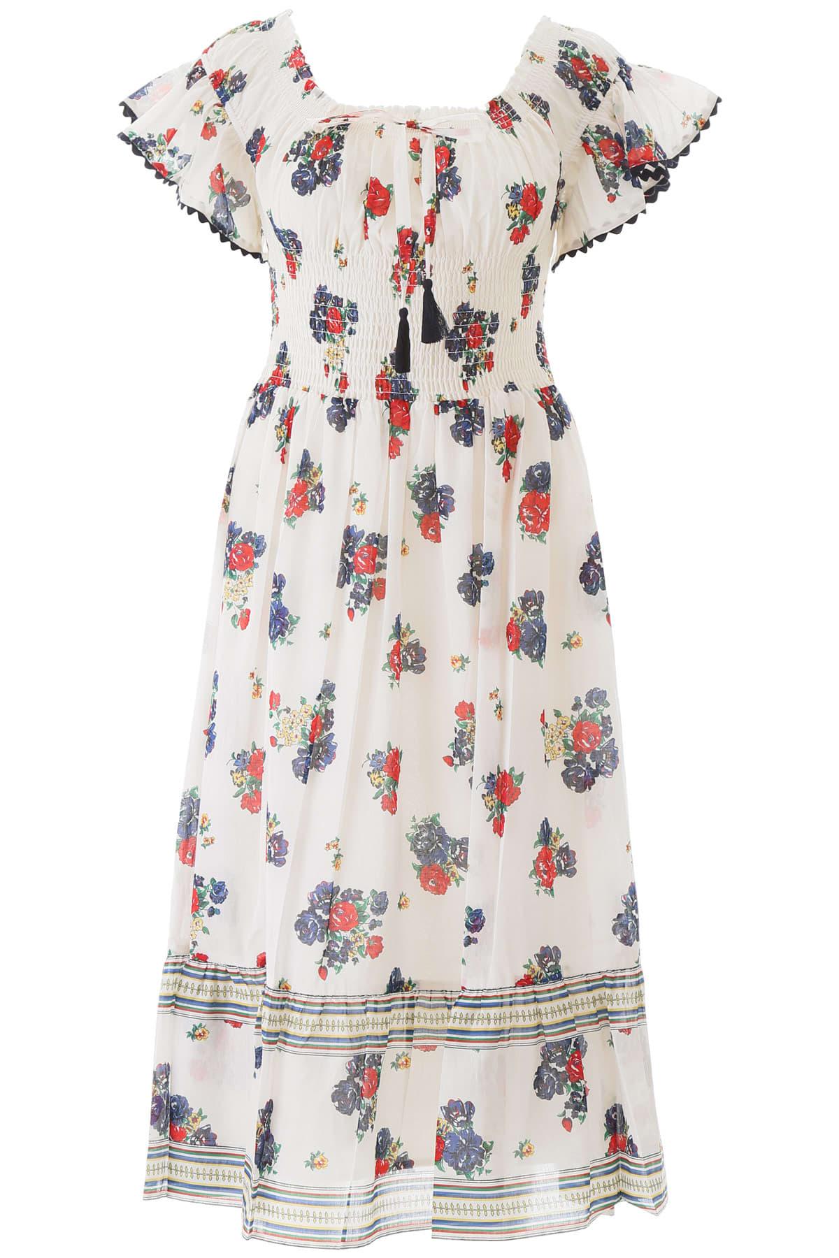 Buy Tory Burch Meadow Folly Dress online, shop Tory Burch with free shipping