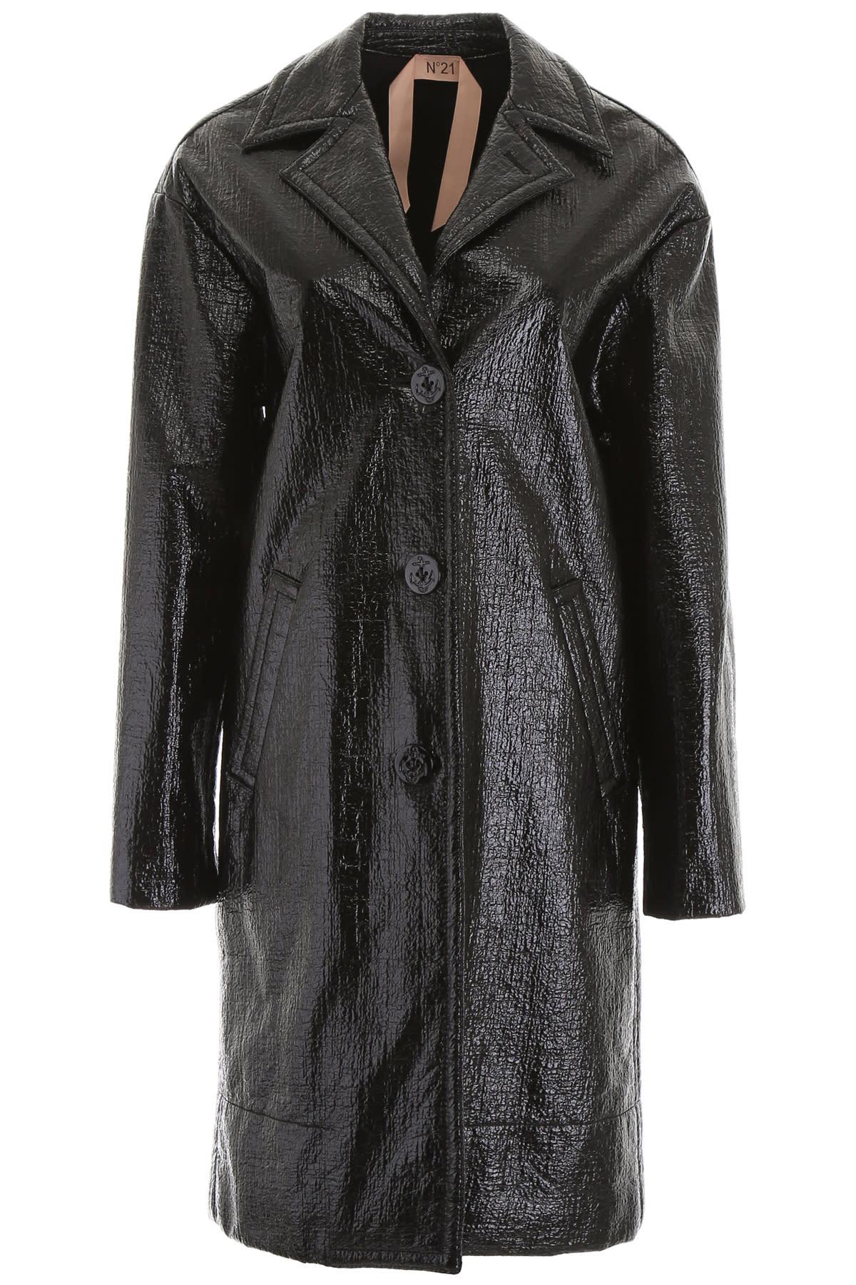 N.21 Waxed Coat