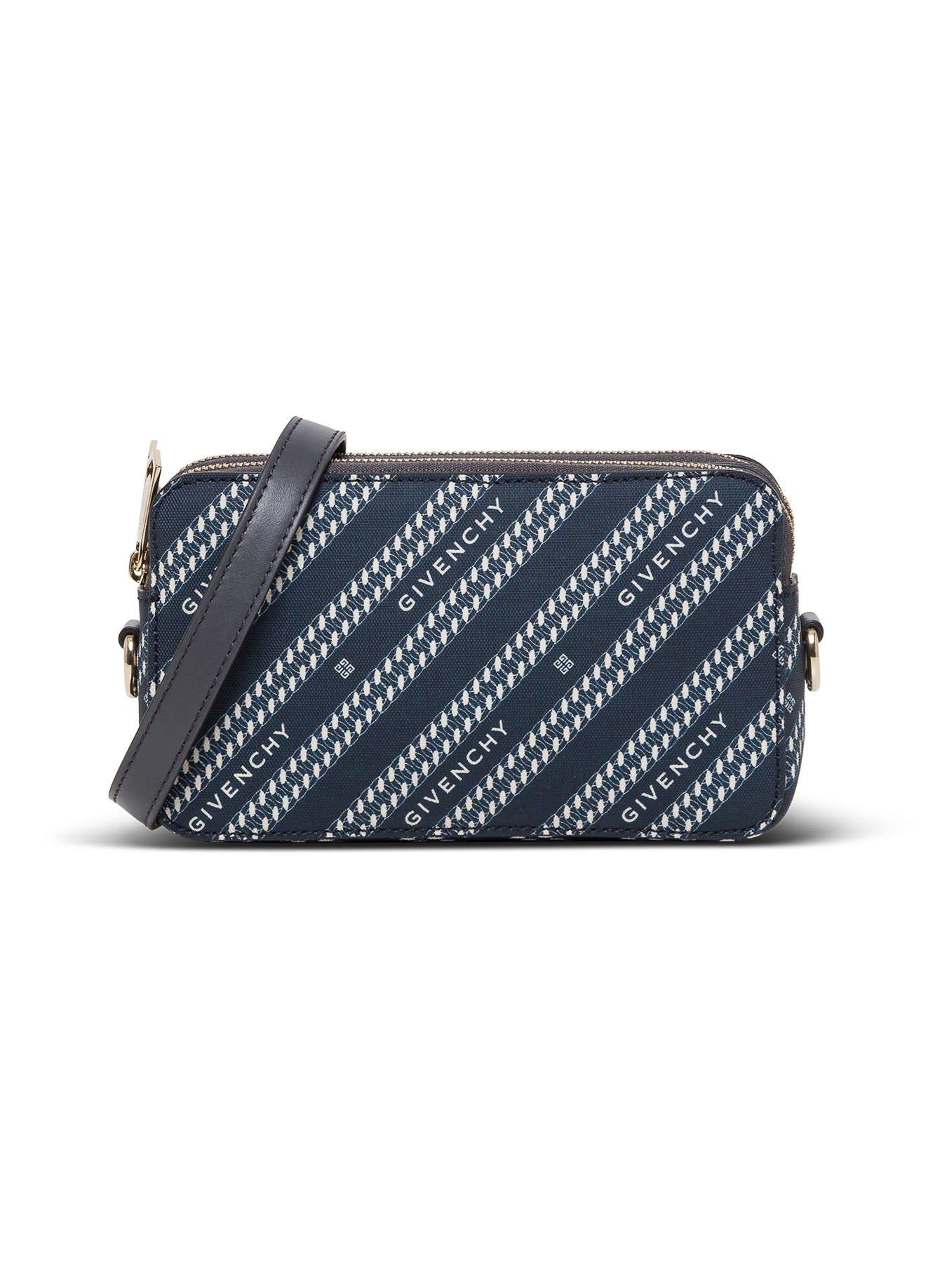 Givenchy Logo Stripe Crossbody Bag