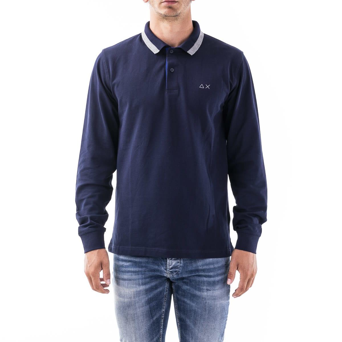 Sun68 Polo Shirt In Cotton Blend