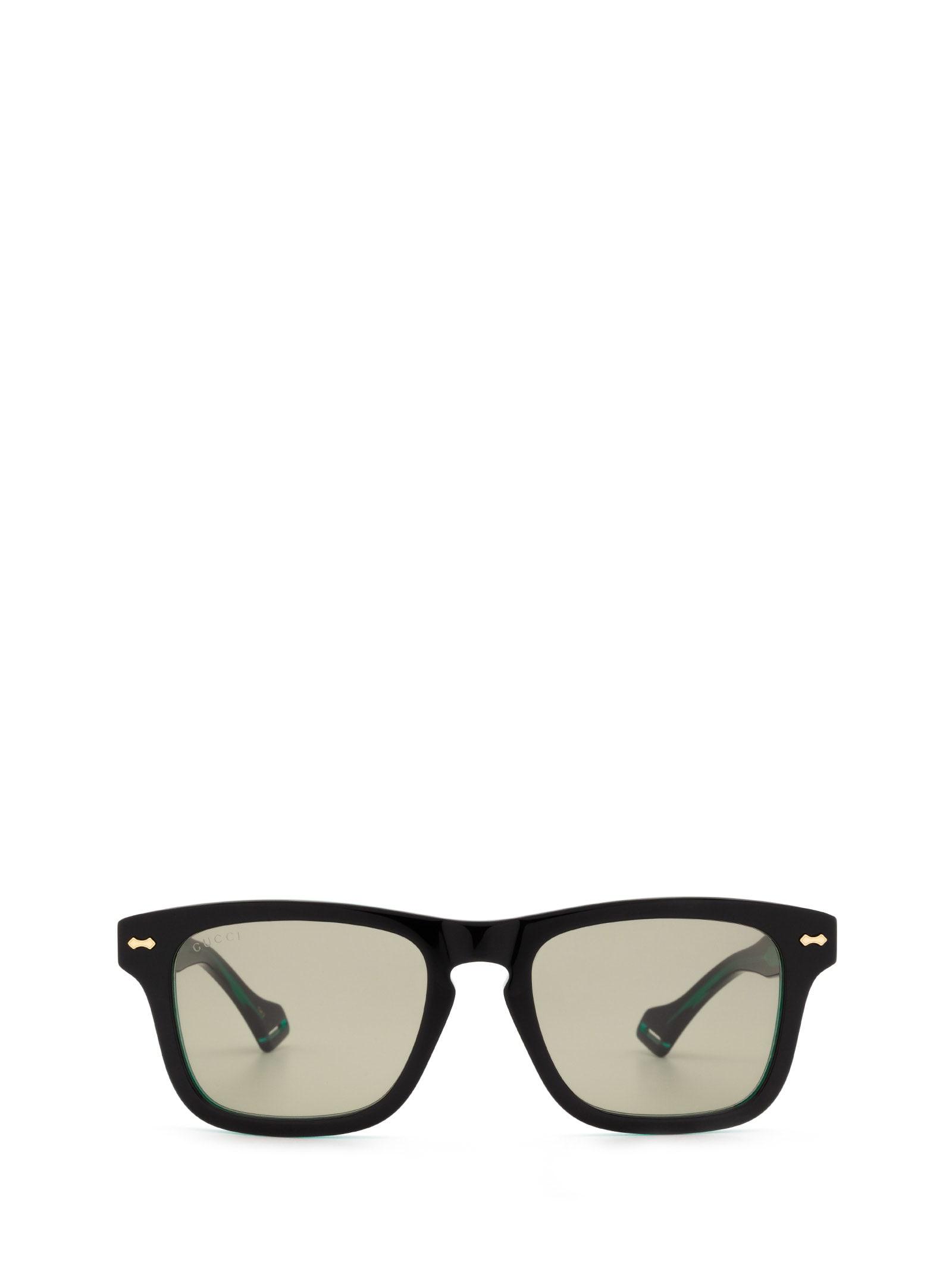 Gucci GG0735S BLACK SUNGLASSES
