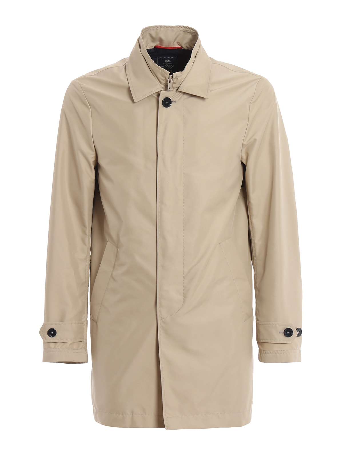 premium selection 87300 4ae40 Fay Fay Light Beige Morning Double Front Trench Coat - Beige ...