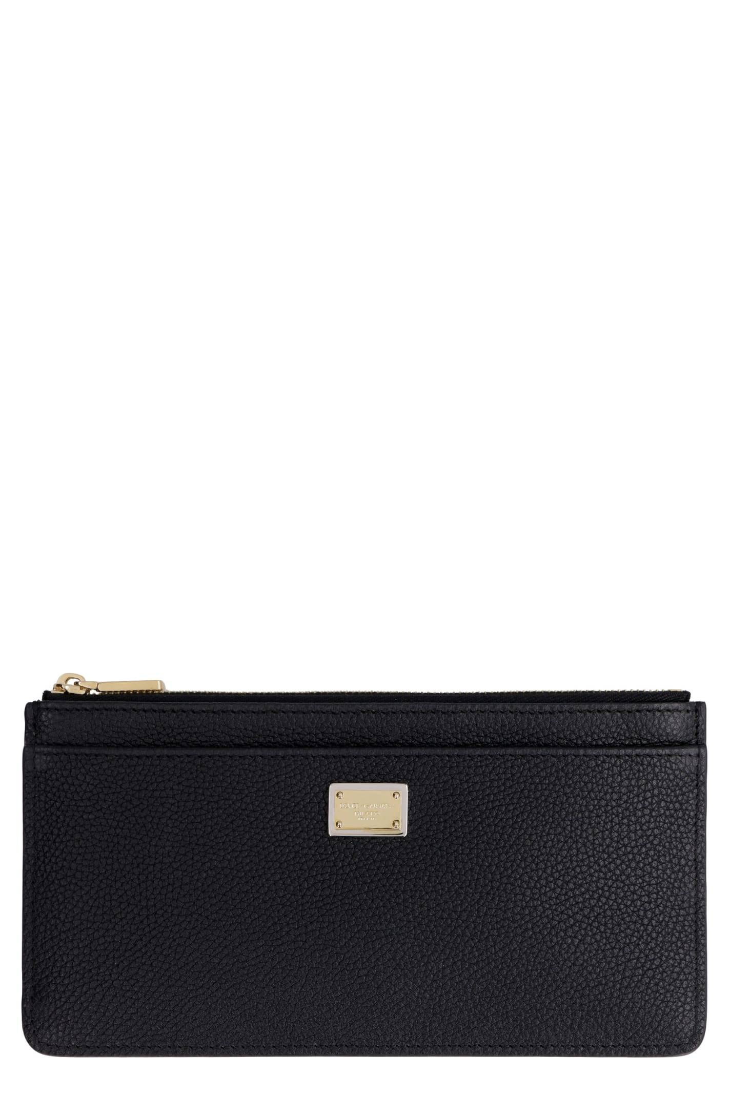 Dolce & Gabbana Cardholders DAUPHINE PRINT LEATHER CARD HOLDER